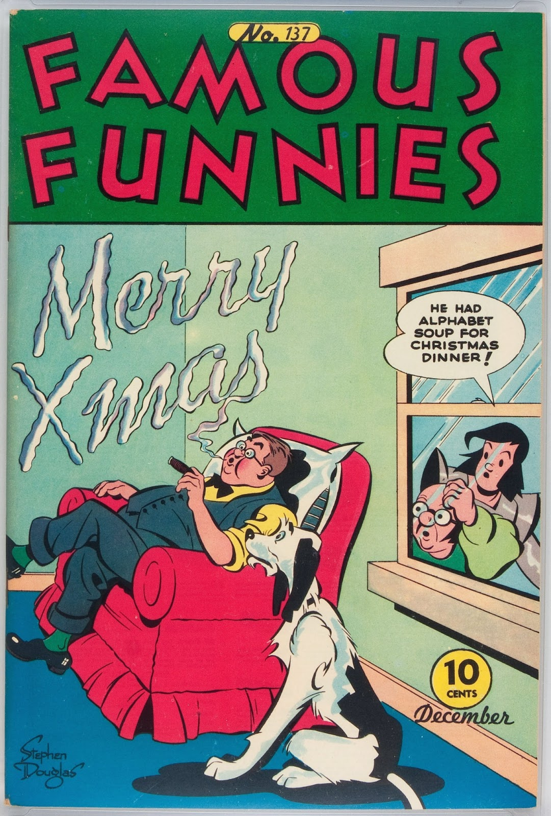 Read online Famous Funnies comic -  Issue #137 - 1