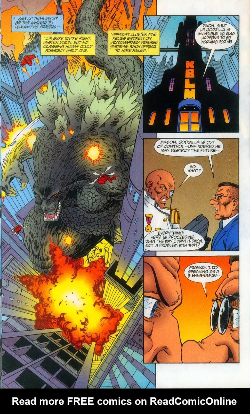 Godzilla (1995) Issue #12 #13 - English 18
