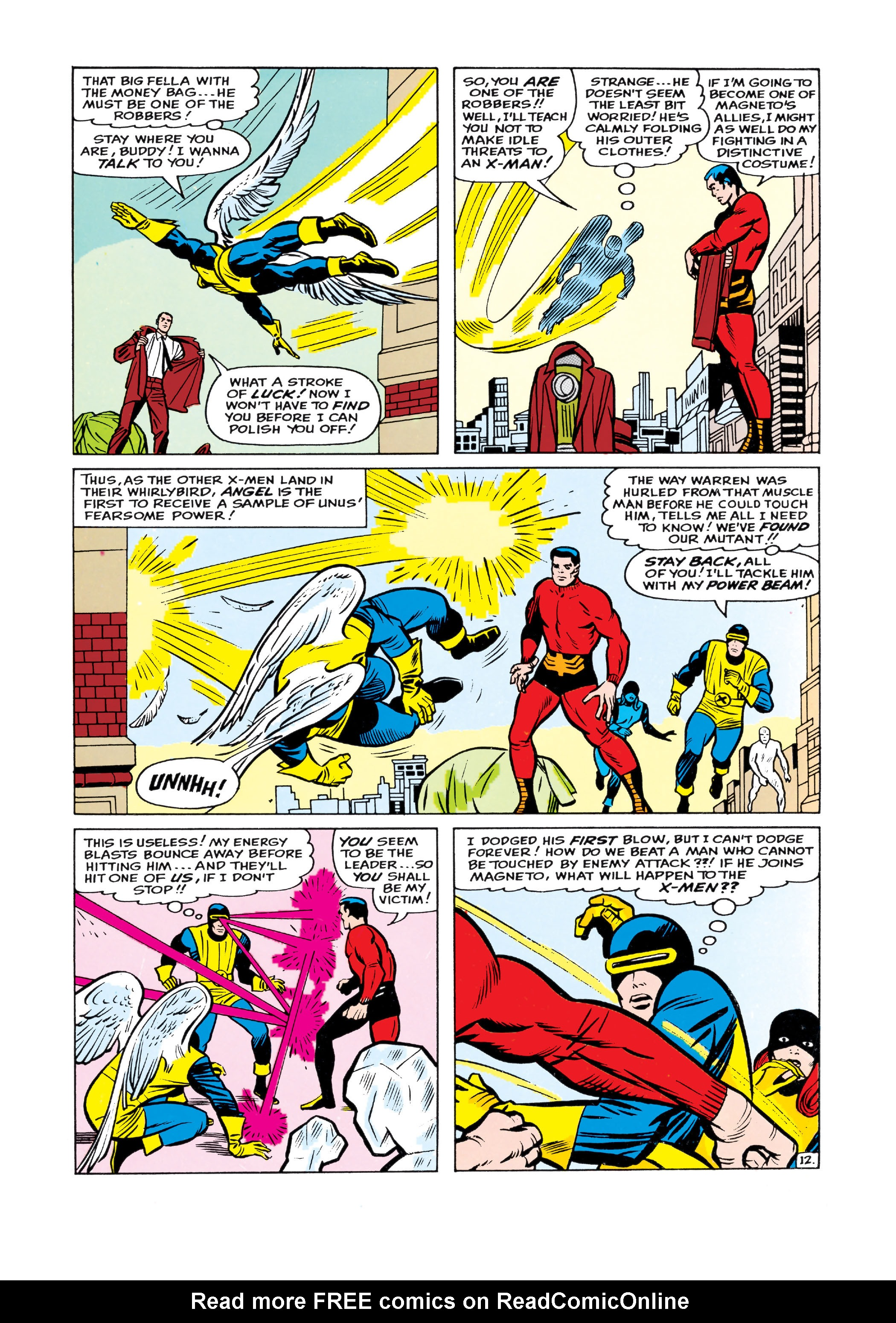 Uncanny X-Men (1963) 8 Page 12