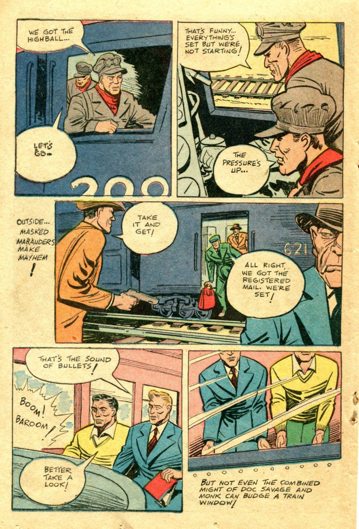 Read online Shadow Comics comic -  Issue #75 - 33