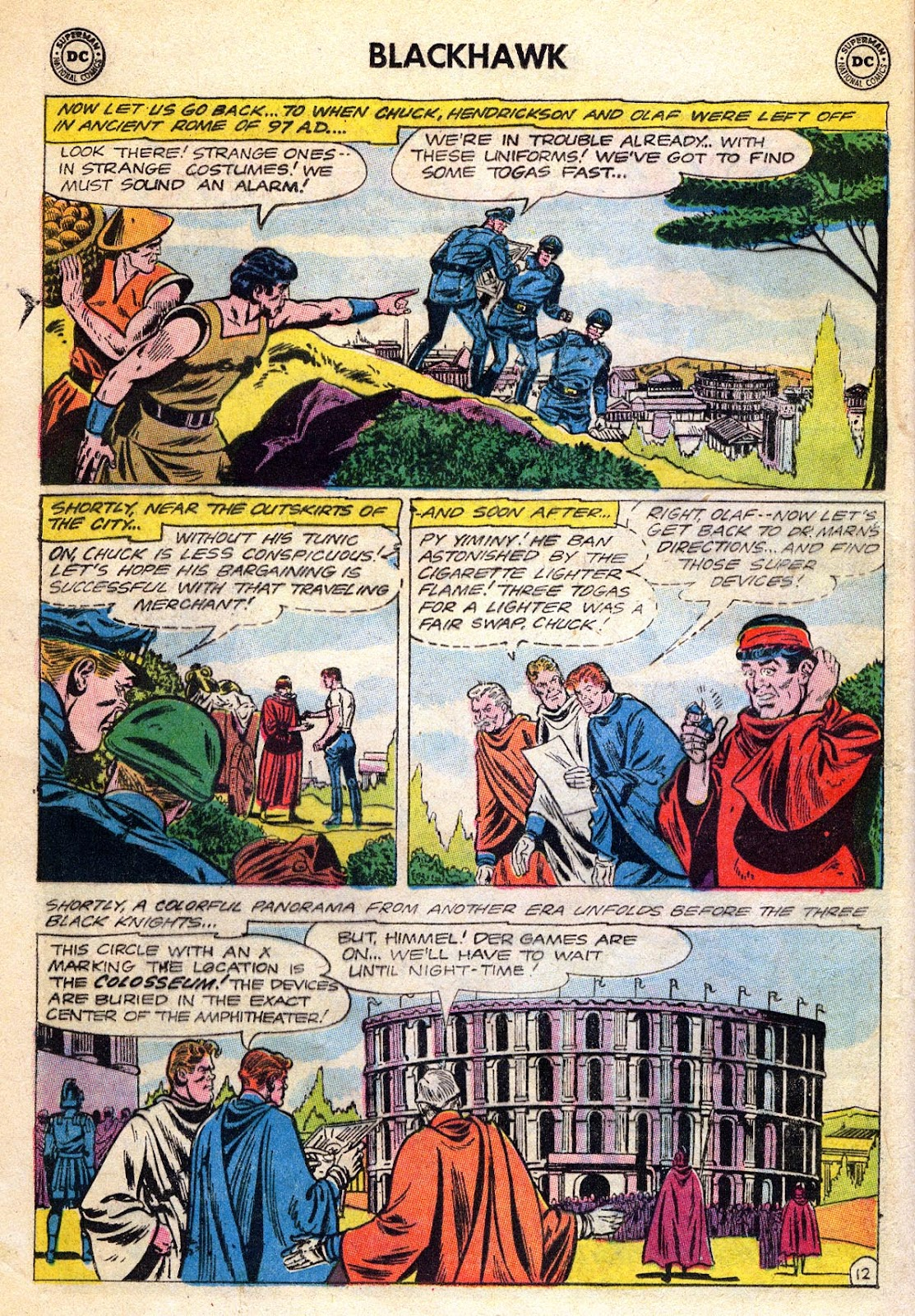 Blackhawk (1957) Issue #189 #82 - English 16