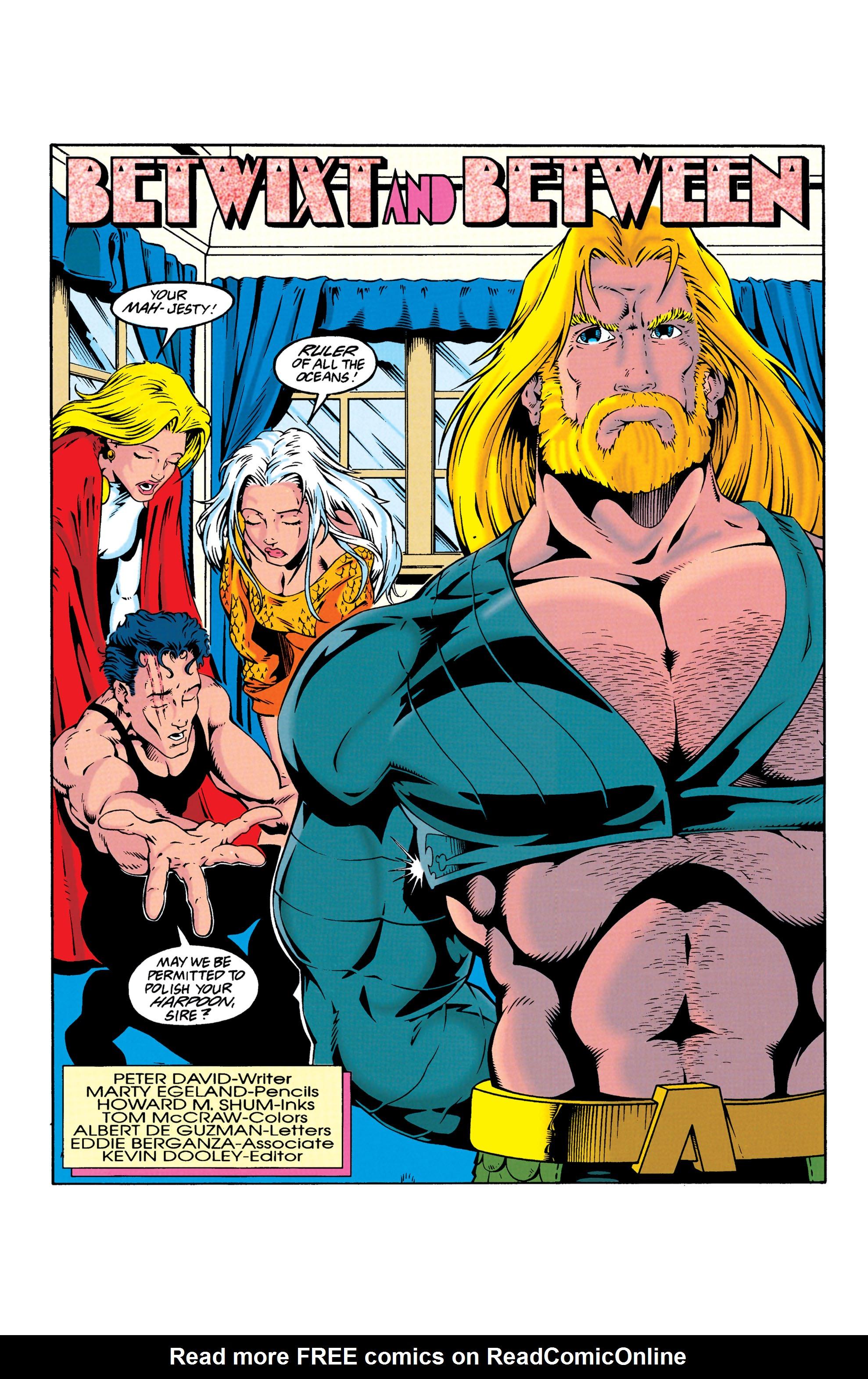 Read online Aquaman (1994) comic -  Issue #25 - 2