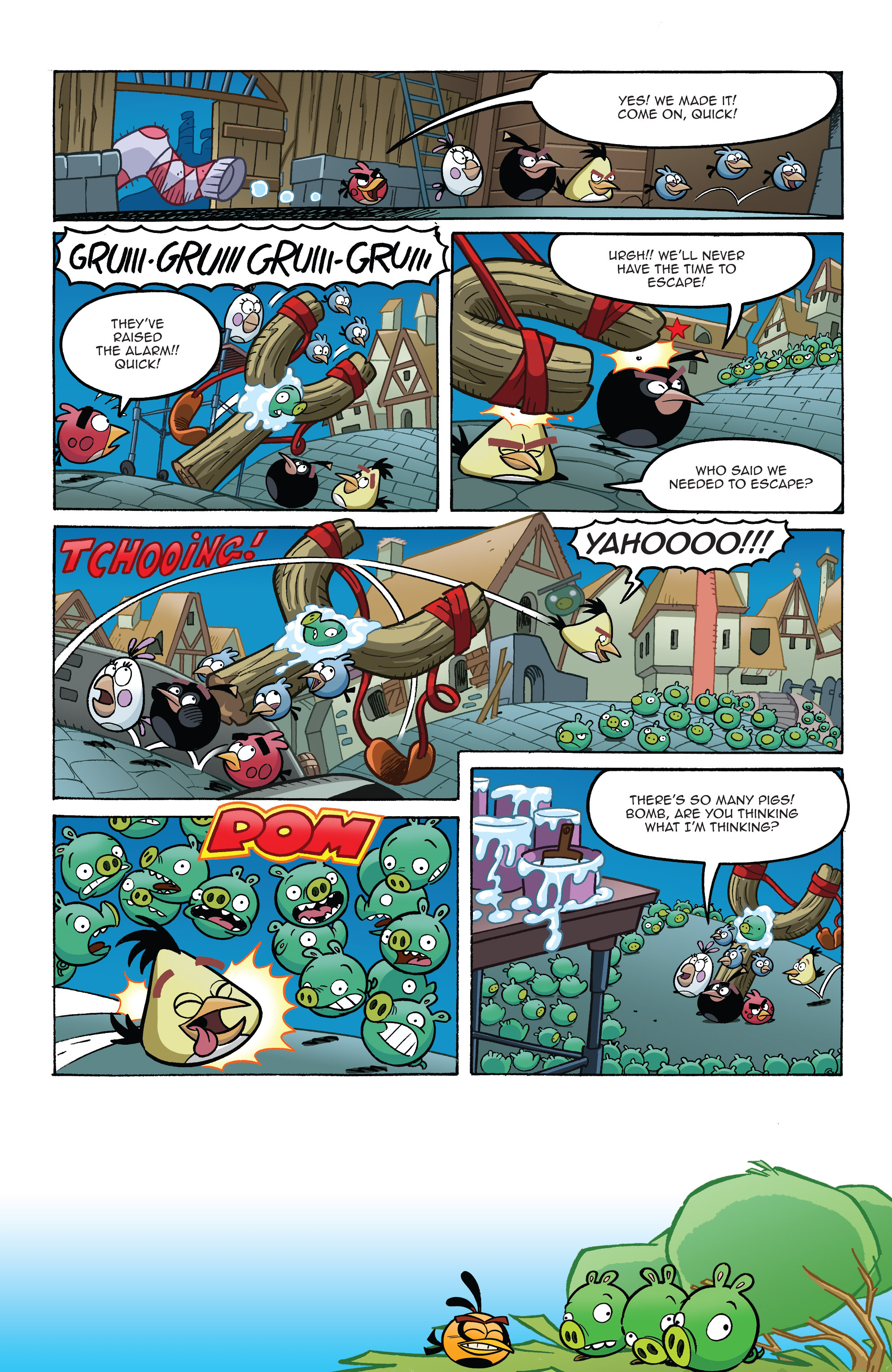 Read online Angry Birds Comics (2014) comic -  Issue #8 - 15