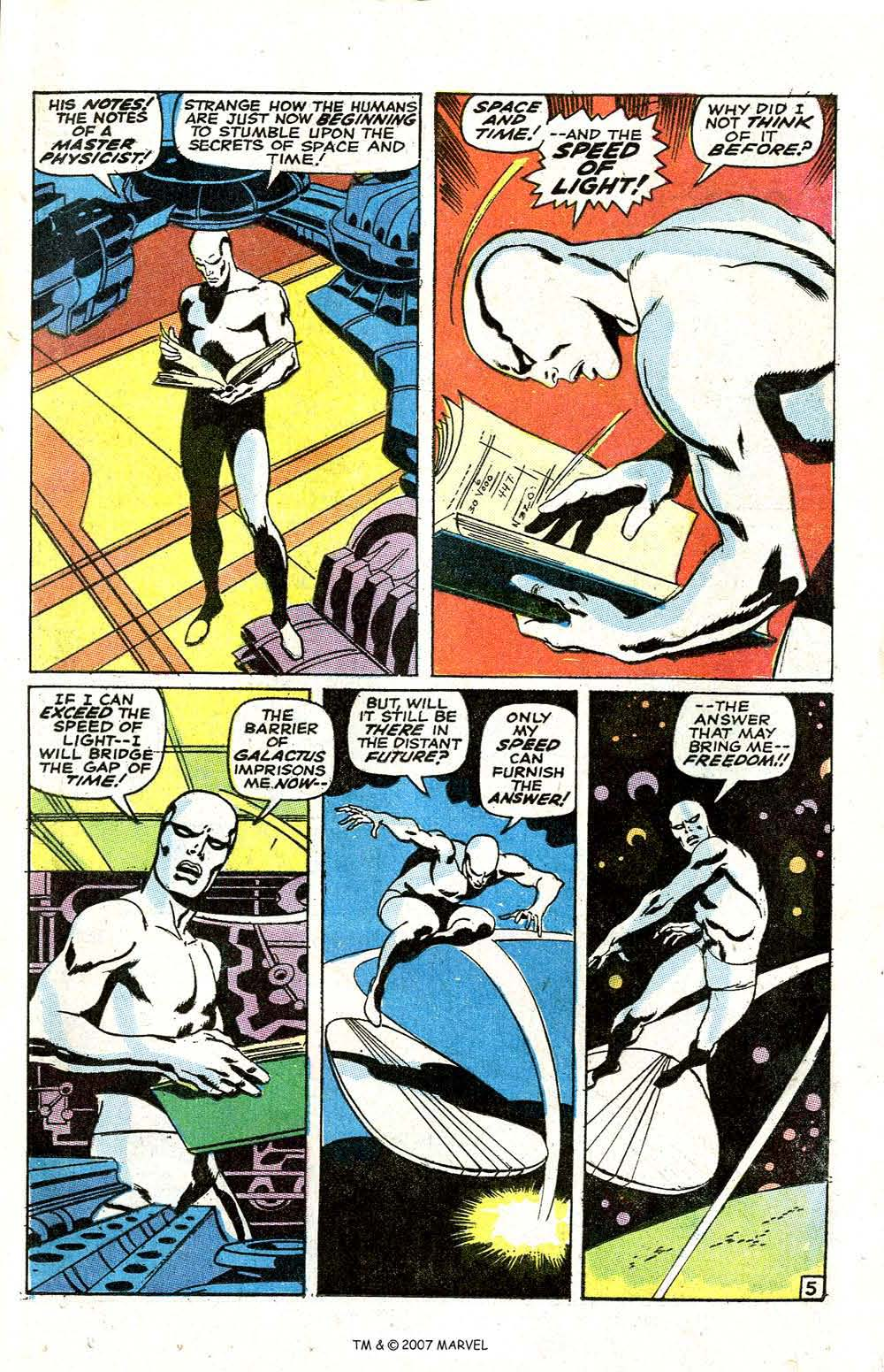 Read online Silver Surfer (1968) comic -  Issue #6 - 7