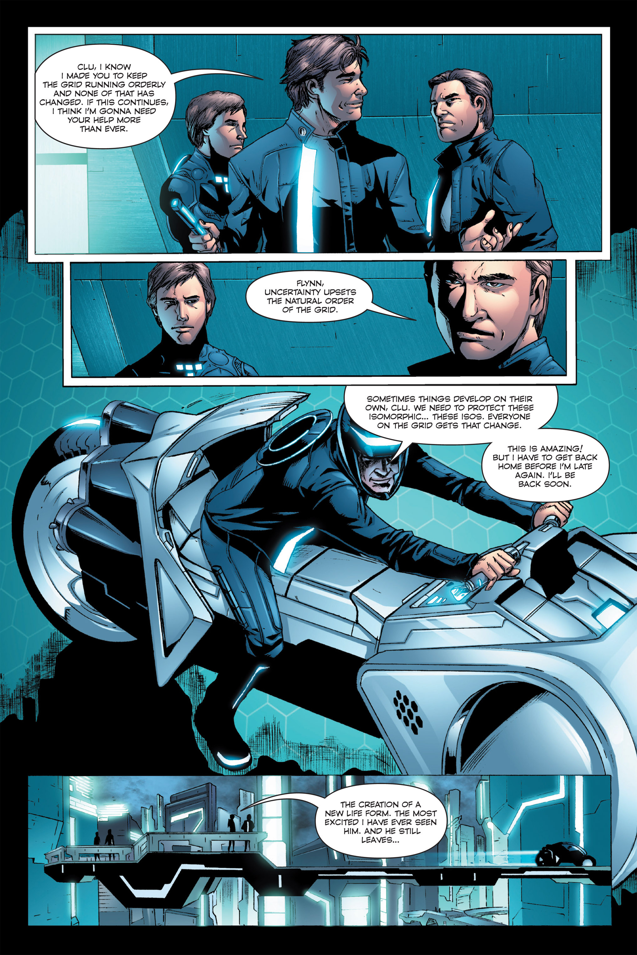 Read online TRON: Betrayal comic -  Issue # TPB - 35