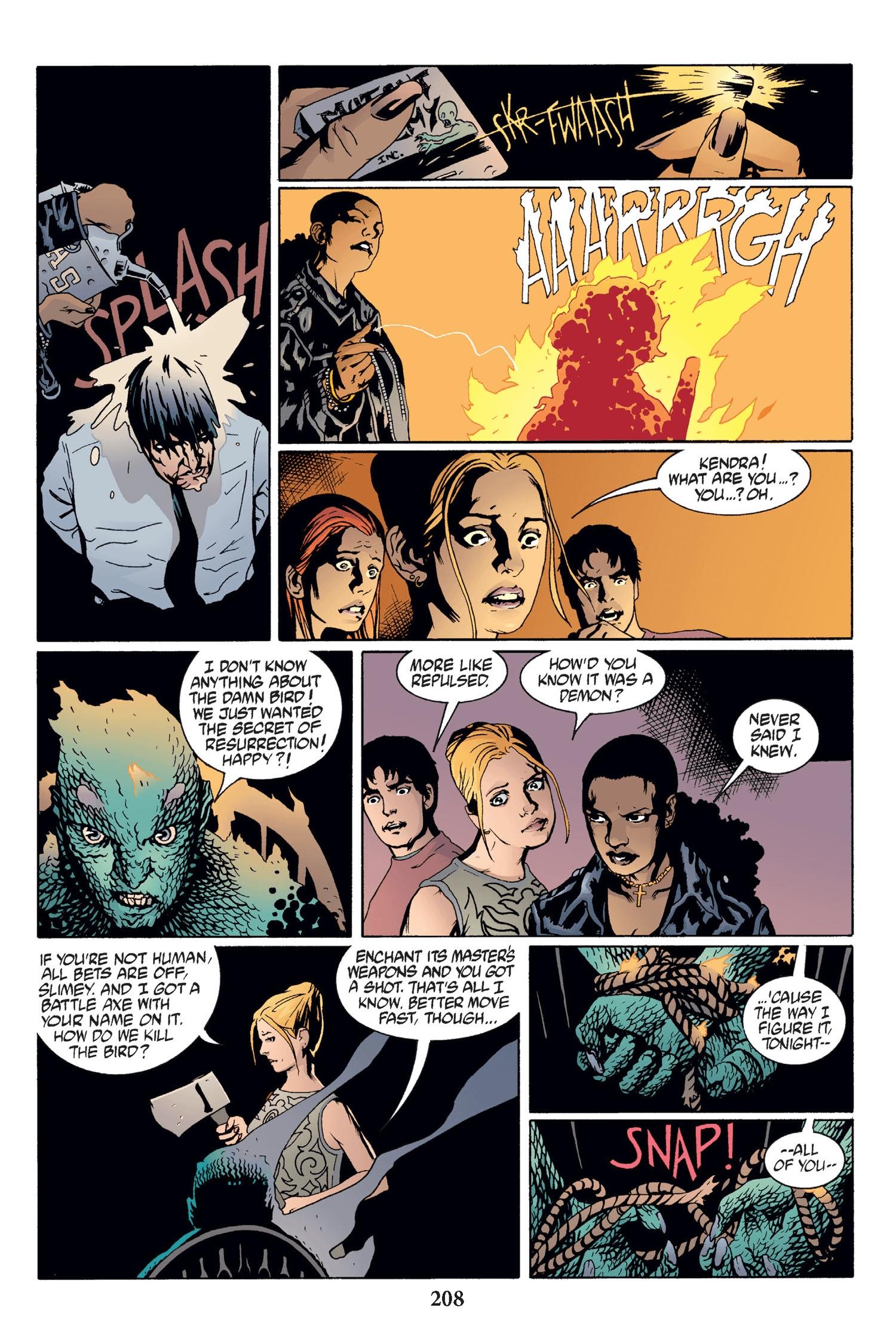 Read online Buffy the Vampire Slayer: Omnibus comic -  Issue # TPB 2 - 202