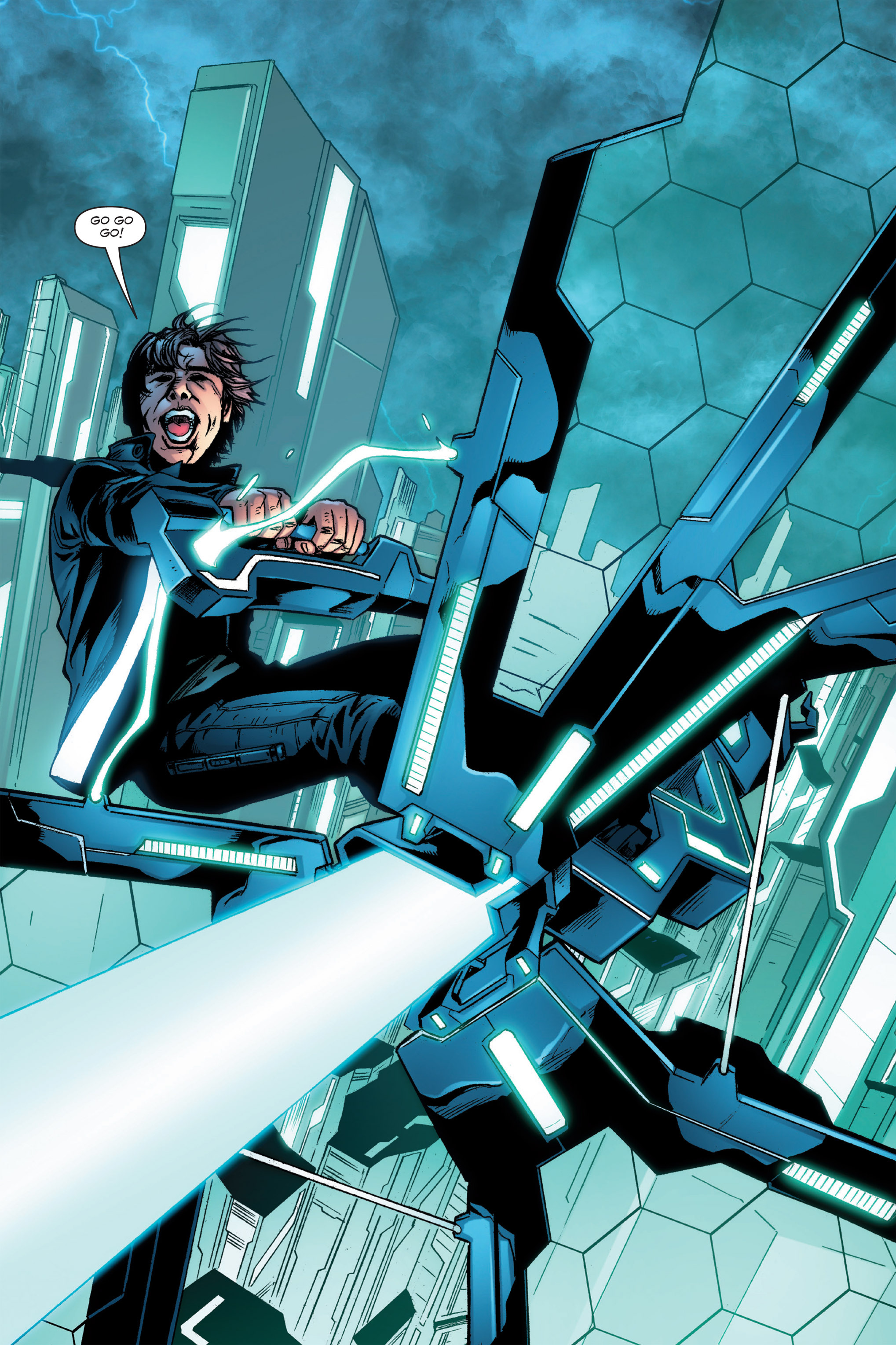 Read online TRON: Betrayal comic -  Issue # TPB - 49