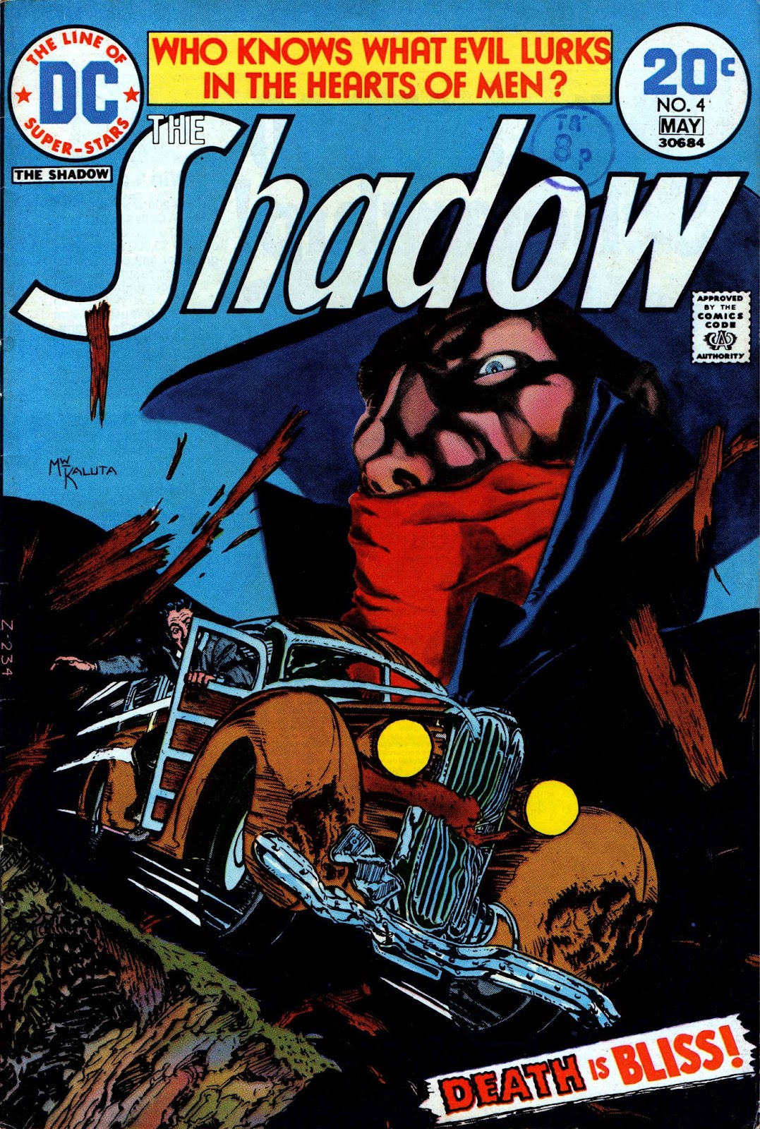 The Shadow (1973) issue 4 - Page 1