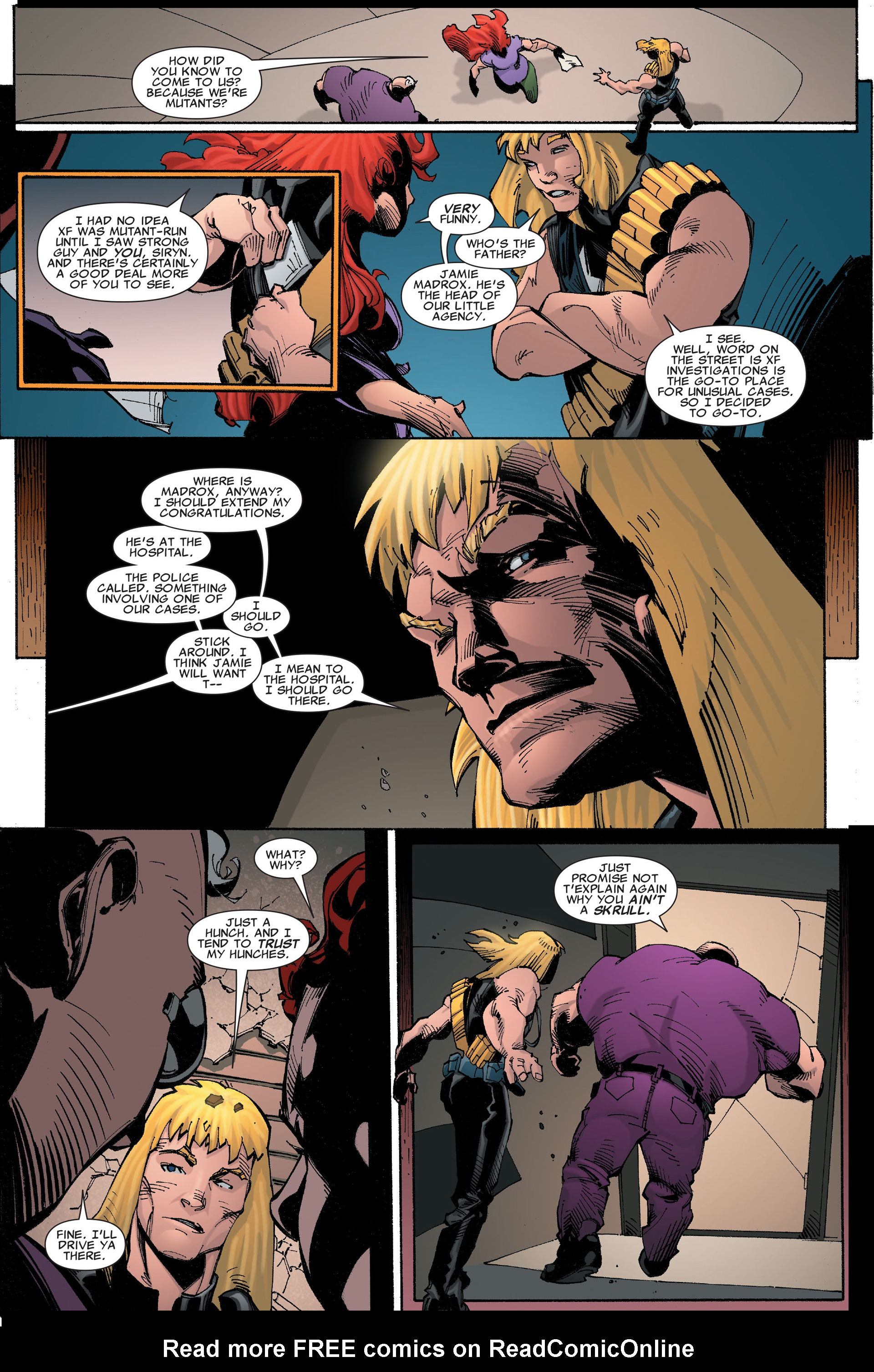 Read online X-Factor (2006) comic -  Issue #35 - 12