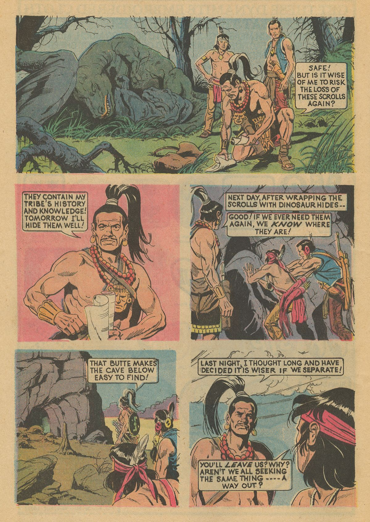 Read online Turok, Son of Stone comic -  Issue #86 - 8