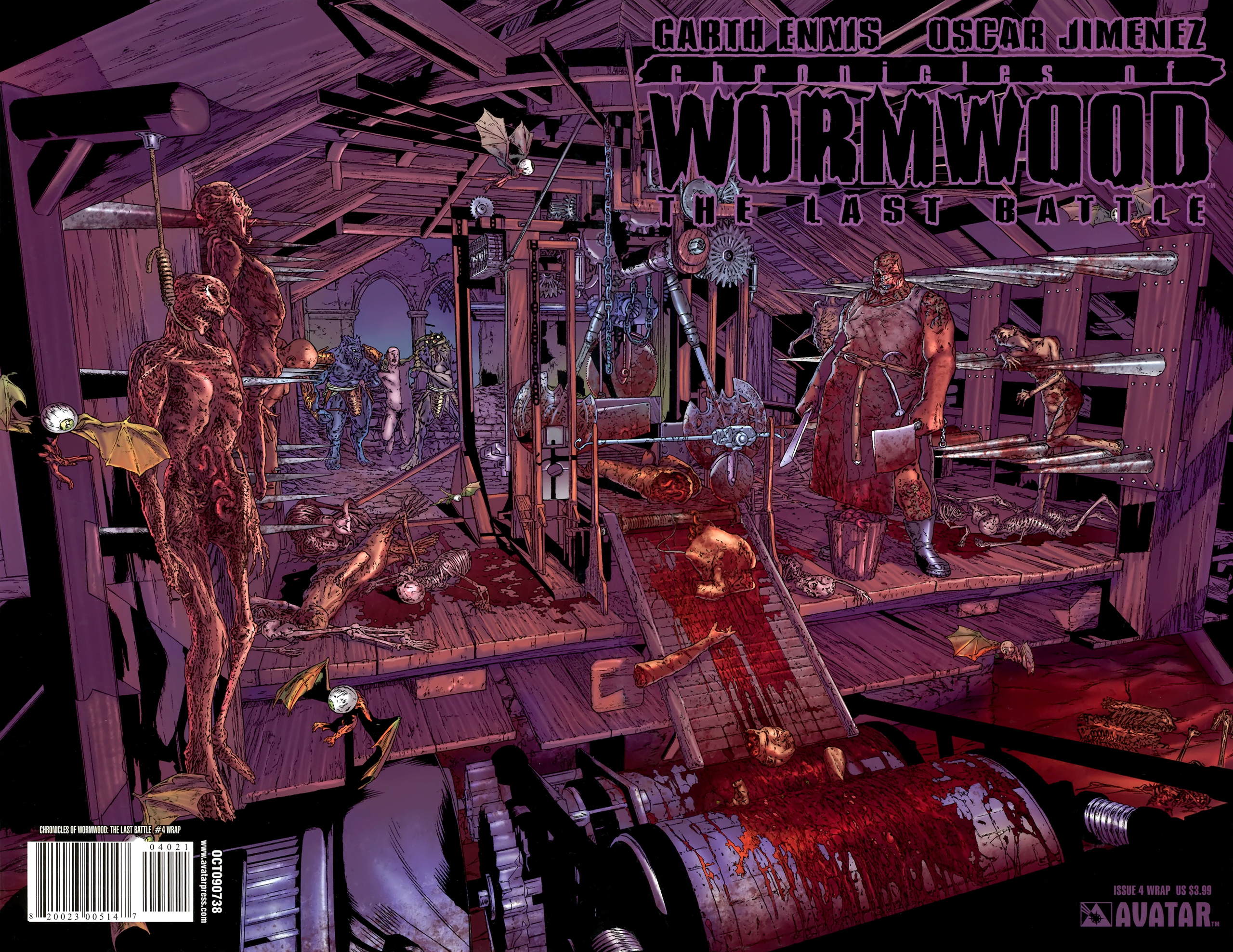 Read online Chronicles of Wormwood: The Last Battle comic -  Issue #4 - 2