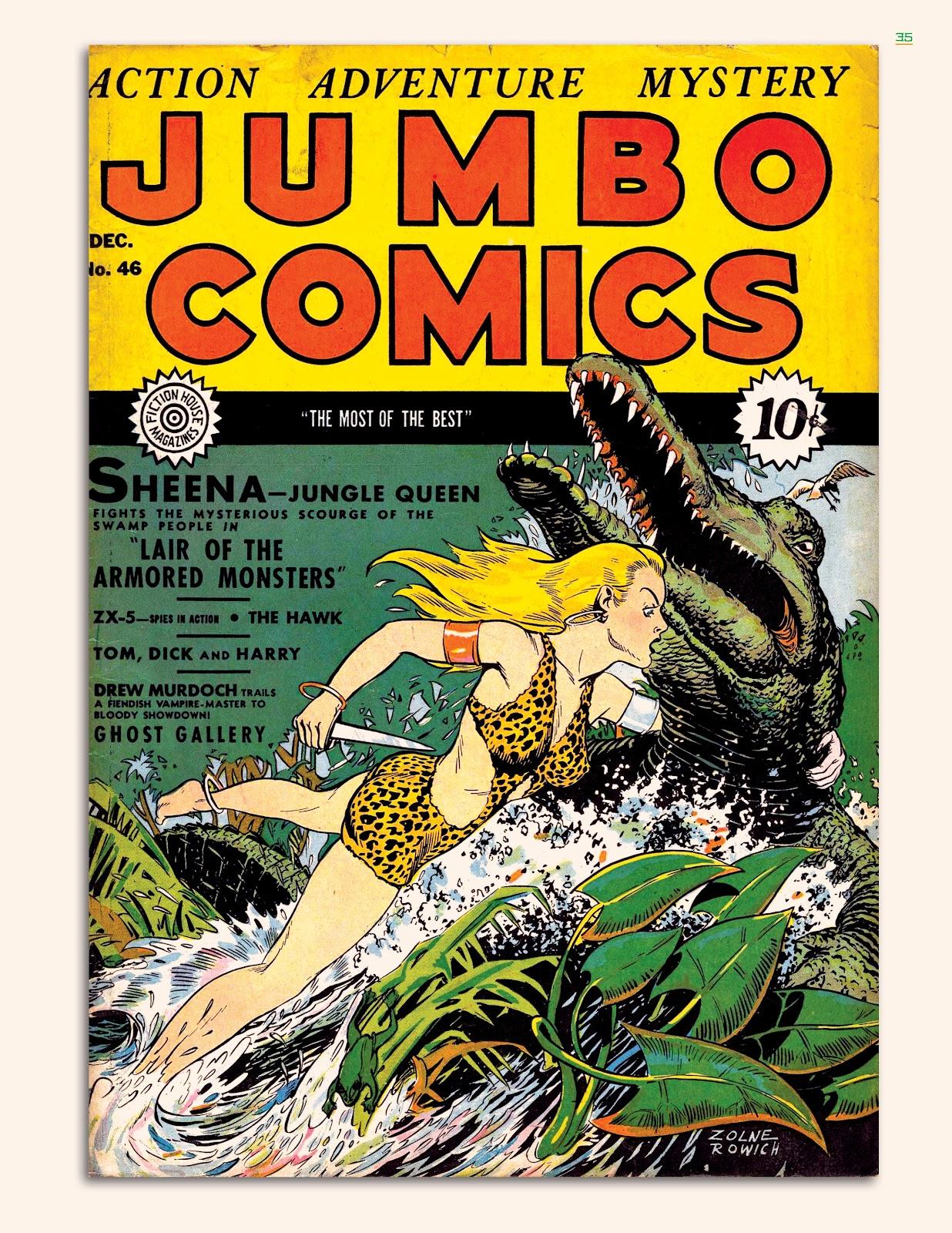 Read online Jungle Girls comic -  Issue # TPB (Part 1) - 36