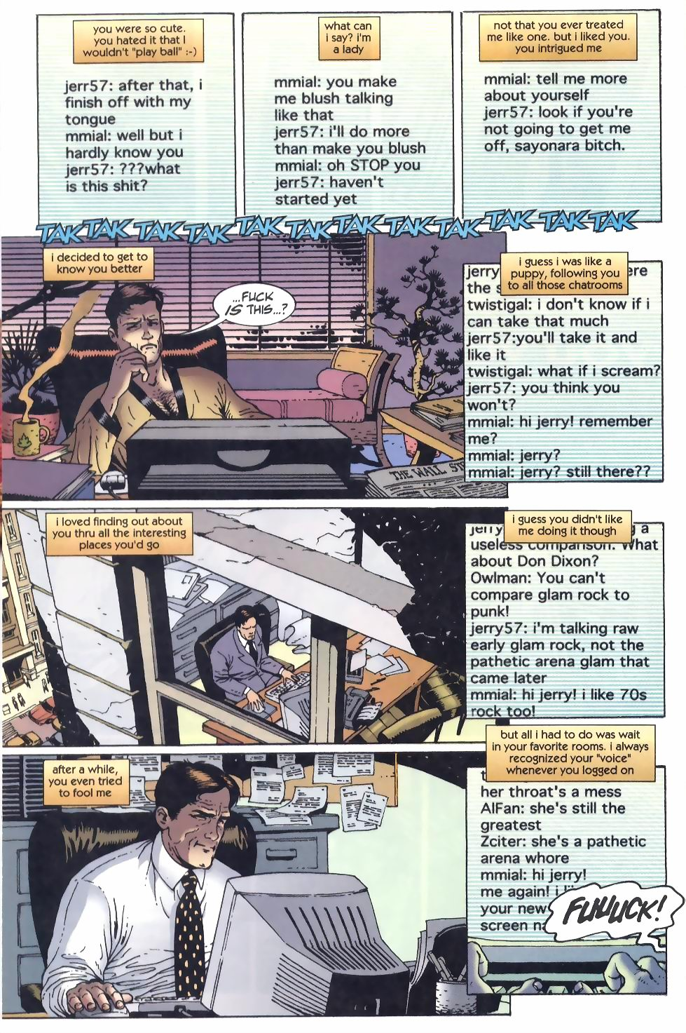 Read online Flinch comic -  Issue #8 - 11
