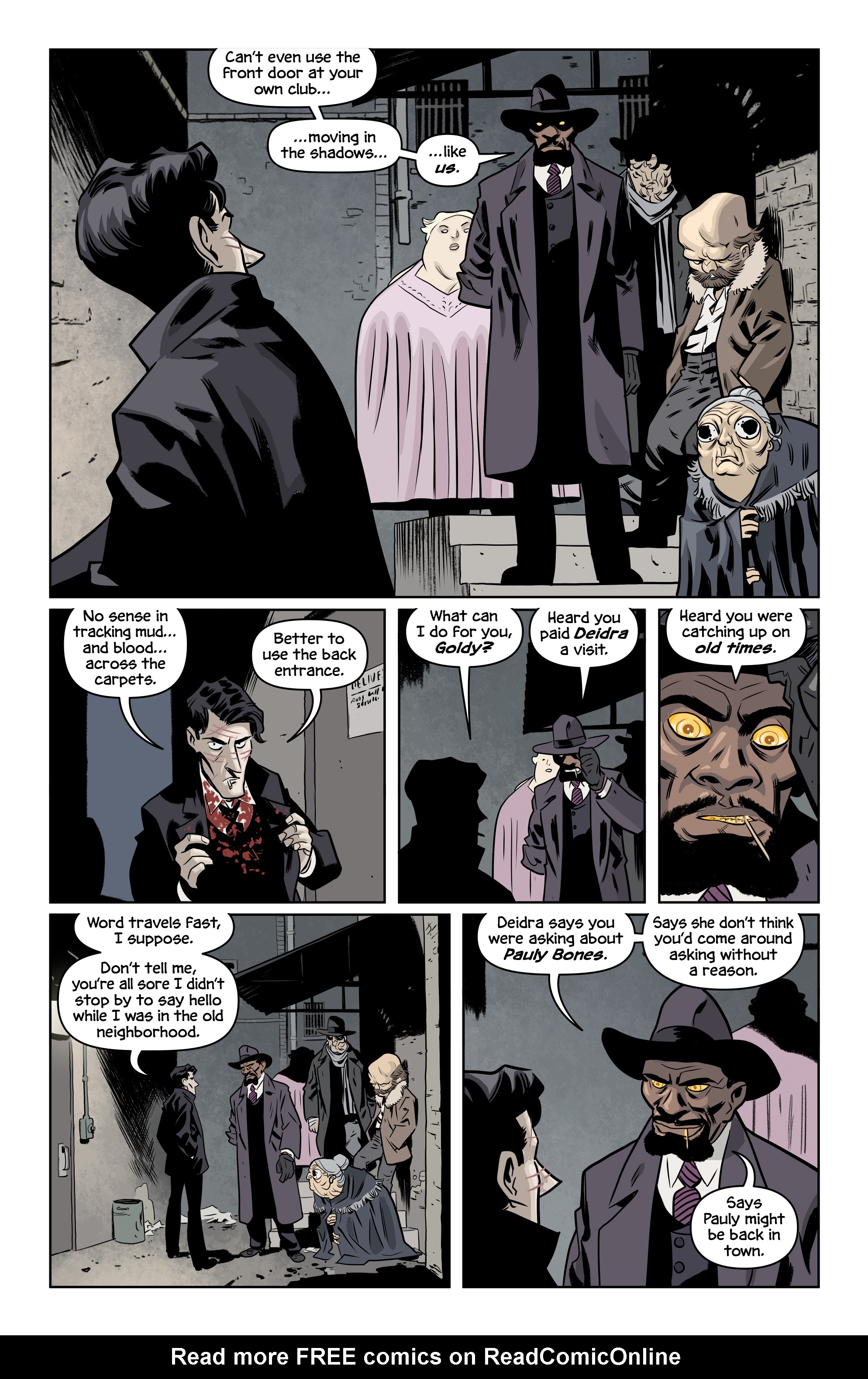 Read online The Damned comic -  Issue #2 - 18