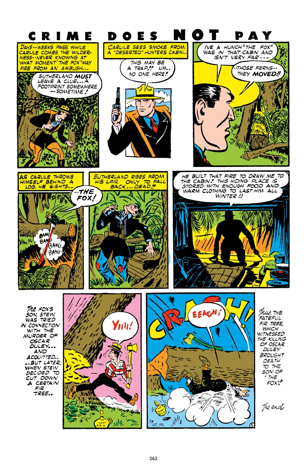 Read online Crime Does Not Pay Archives comic -  Issue # TPB 1 (Part 3) - 65