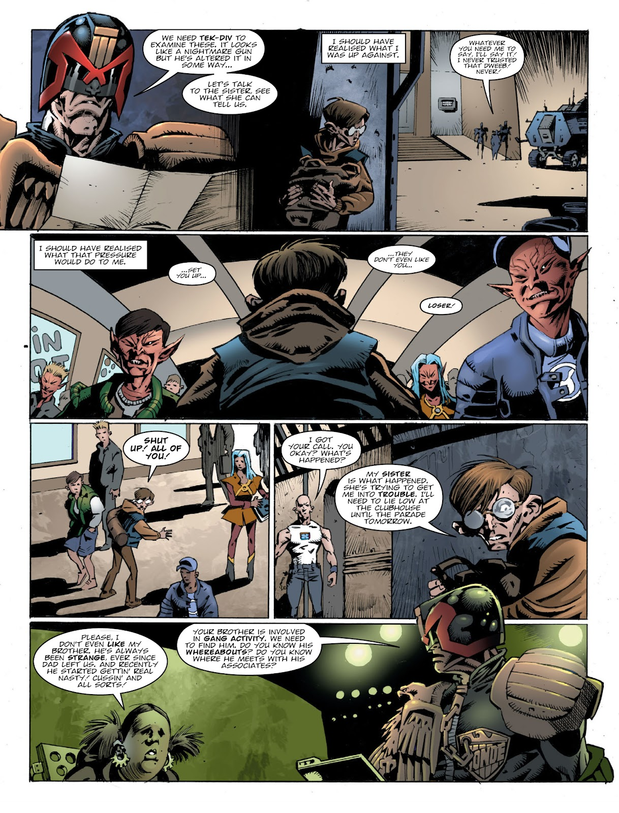 Read online 2000 AD comic -  Issue #2032 - 4
