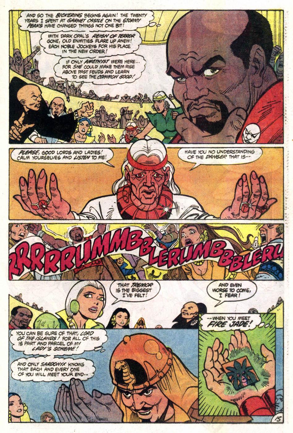 Read online Amethyst (1985) comic -  Issue #1 - 16