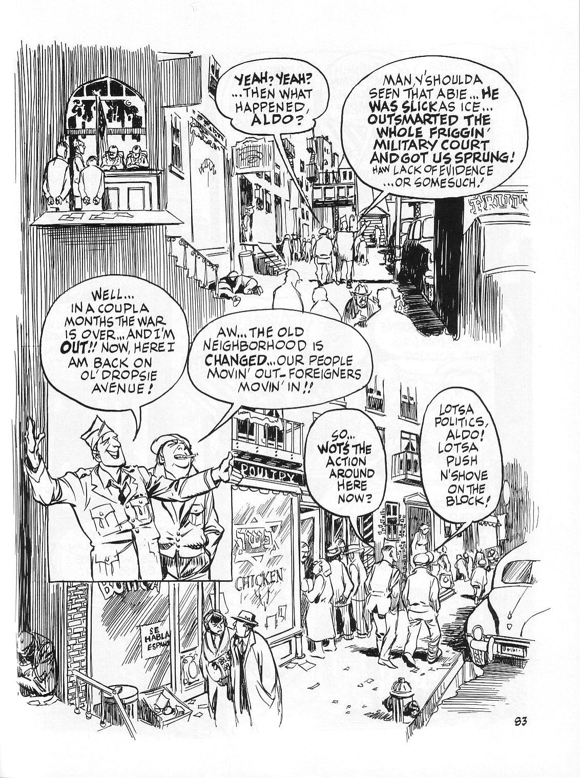 Read online Dropsie Avenue, The Neighborhood comic -  Issue # Full - 85