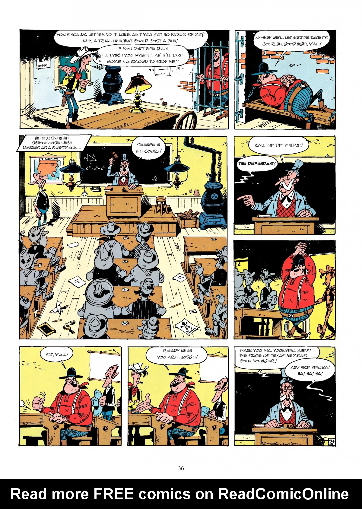 Read online A Lucky Luke Adventure comic -  Issue #4 - 38
