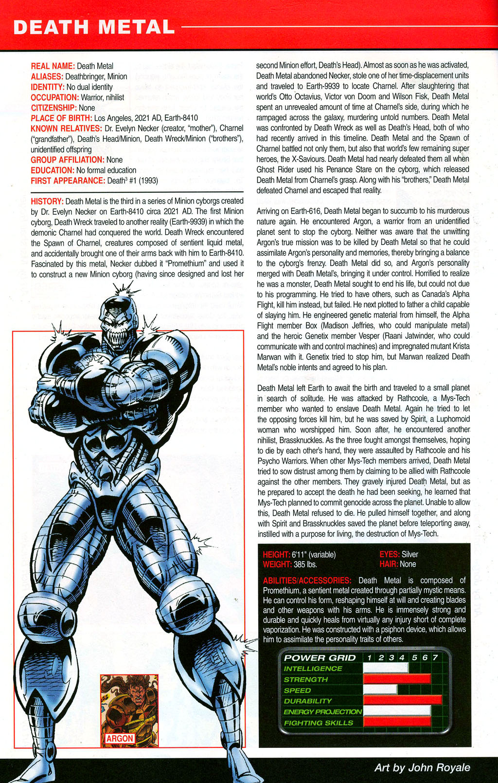 Read online All-New Official Handbook of the Marvel Universe A to Z: Update comic -  Issue #3 - 14