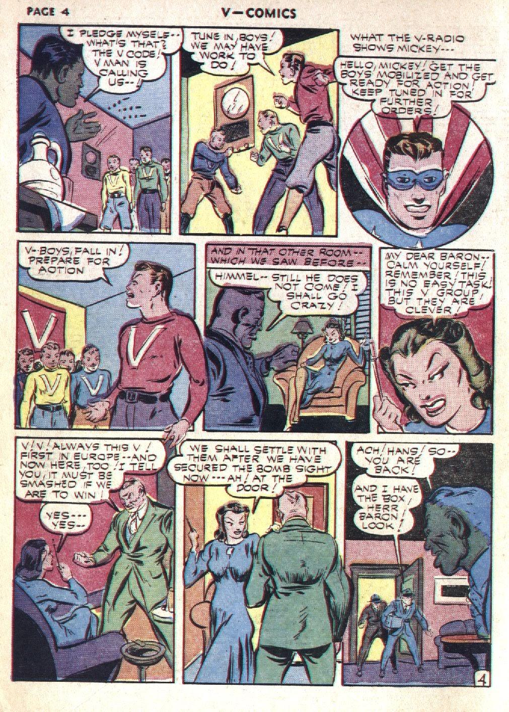 Read online V...- Comics comic -  Issue #1 - 6