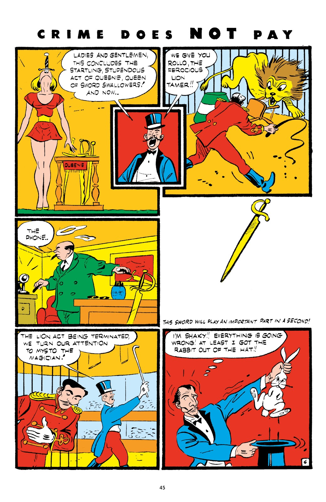 Read online Crime Does Not Pay Archives comic -  Issue # TPB 5 (Part 1) - 45