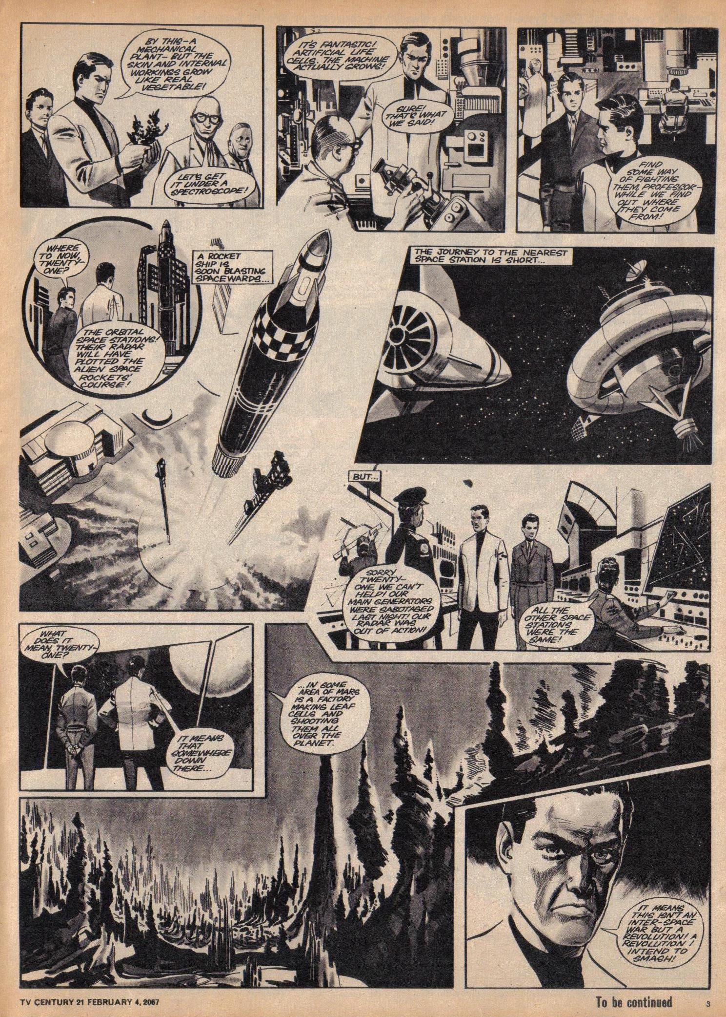 Read online TV Century 21 (TV 21) comic -  Issue #107 - 3