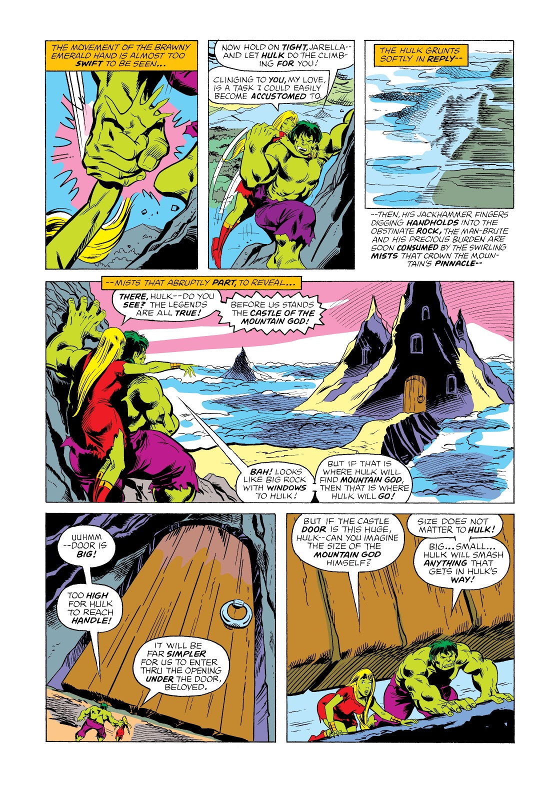 Read online Marvel Masterworks: The Incredible Hulk comic -  Issue # TPB 12 (Part 2) - 49