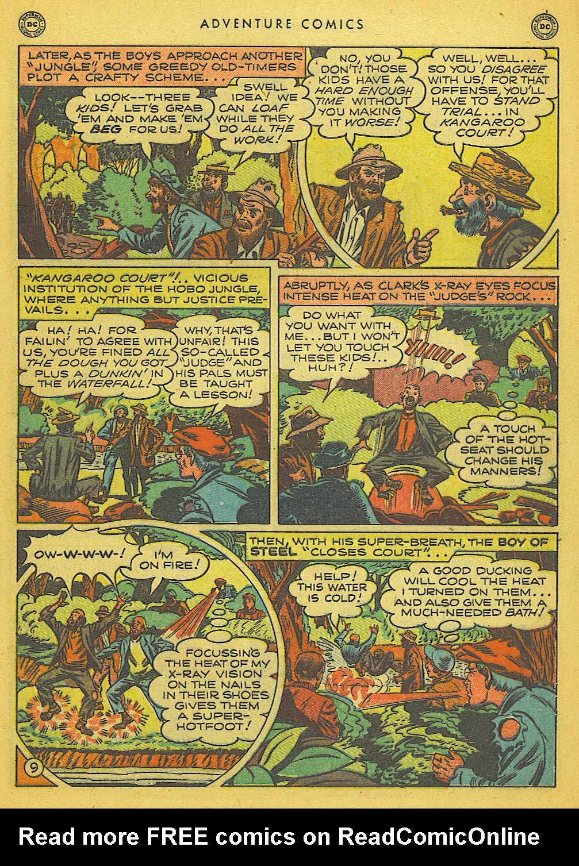 Read online Adventure Comics (1938) comic -  Issue #153 - 10