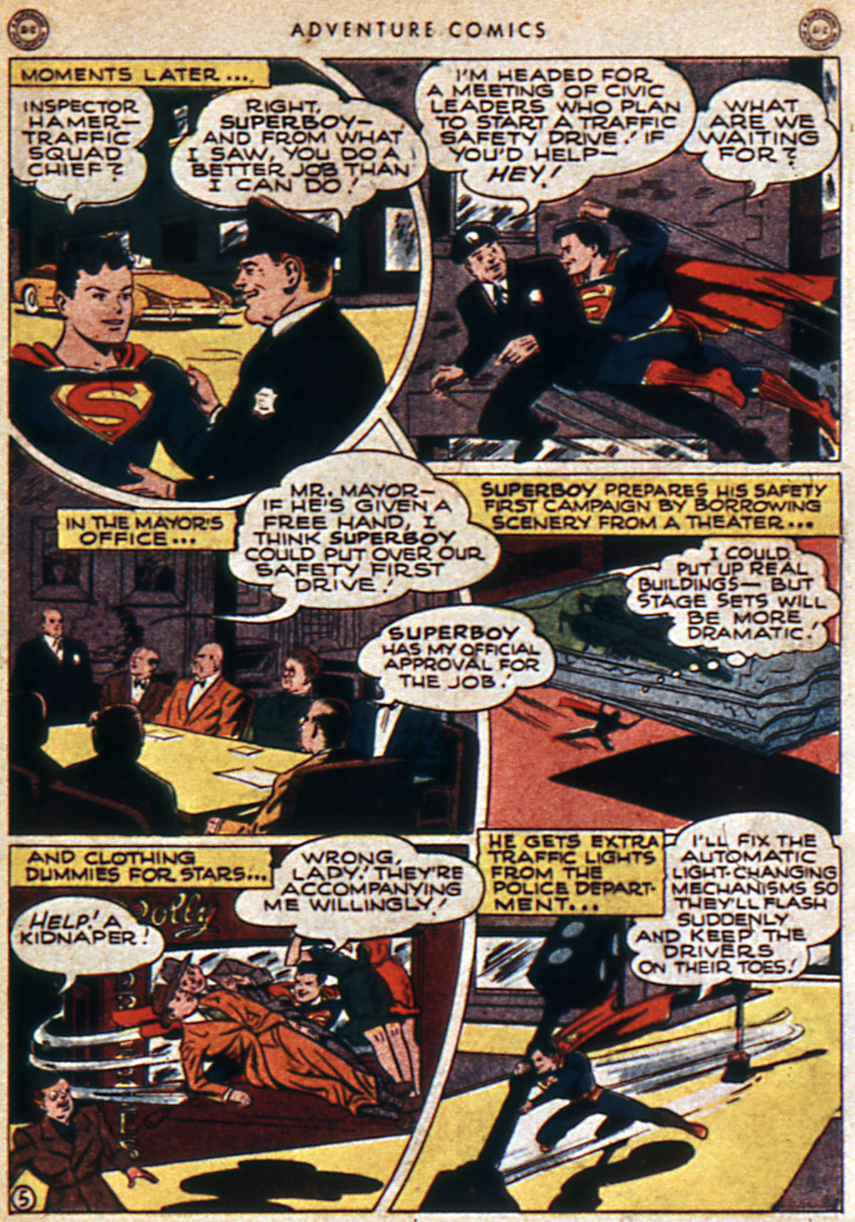 Read online Adventure Comics (1938) comic -  Issue #112 - 7