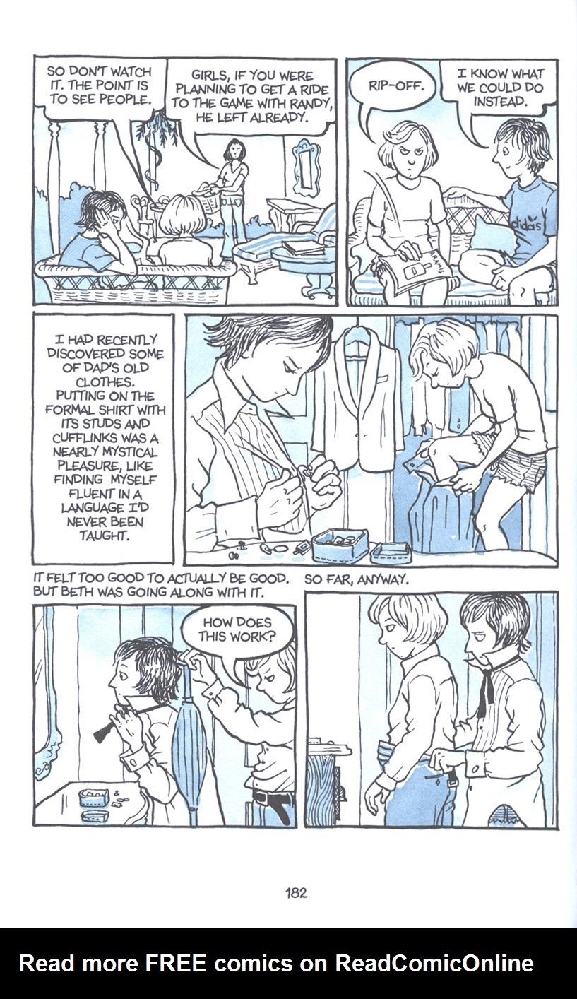 Read online Fun Home: A Family Tragicomic comic -  Issue # TPB - 188