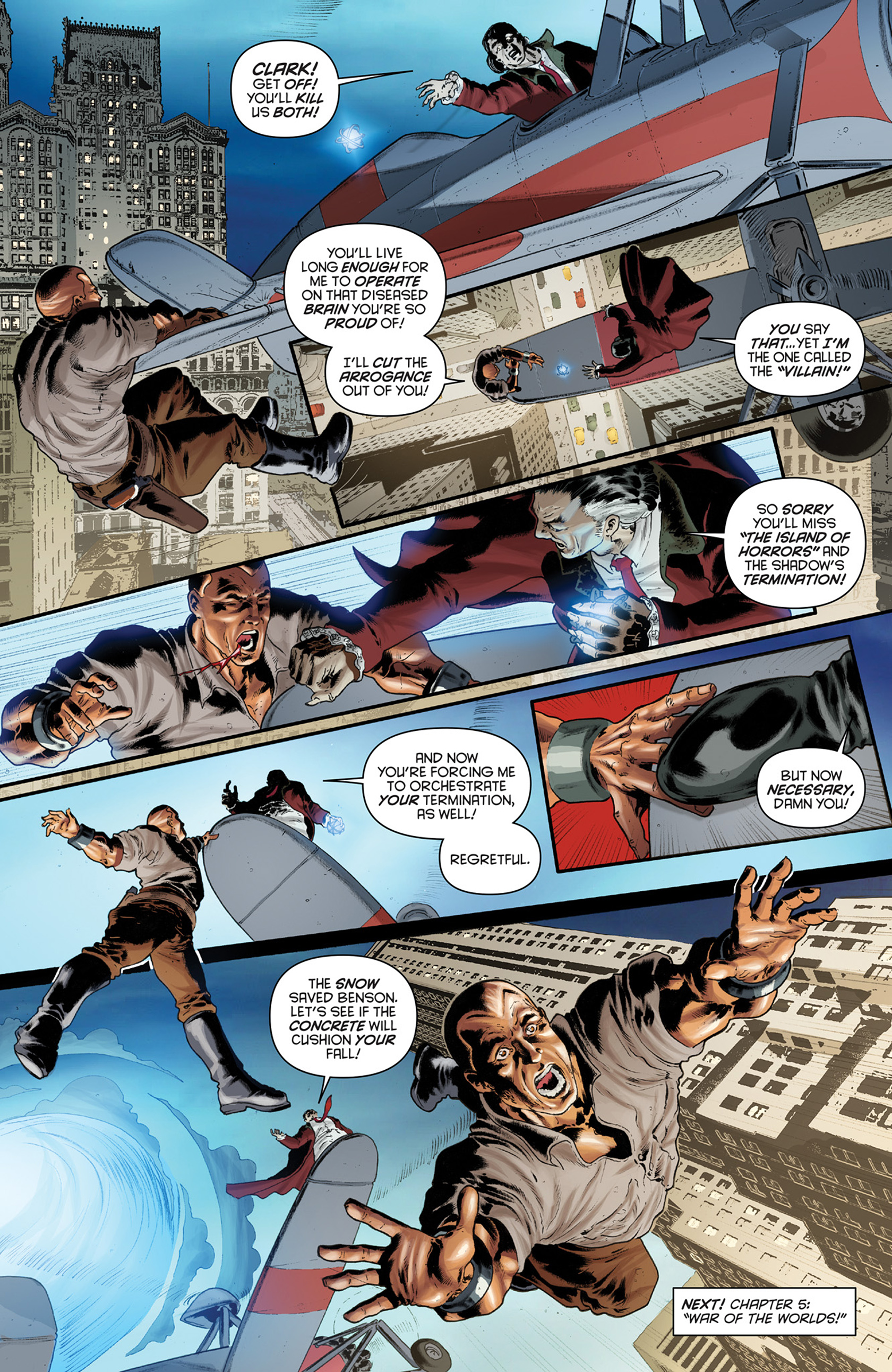 Read online Justice, Inc. comic -  Issue #4 - 21