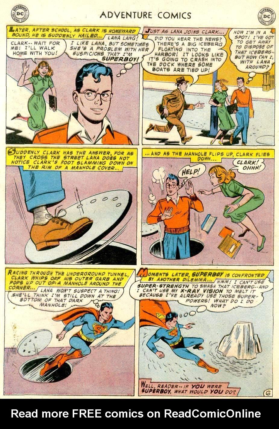 Read online Adventure Comics (1938) comic -  Issue #248 - 8