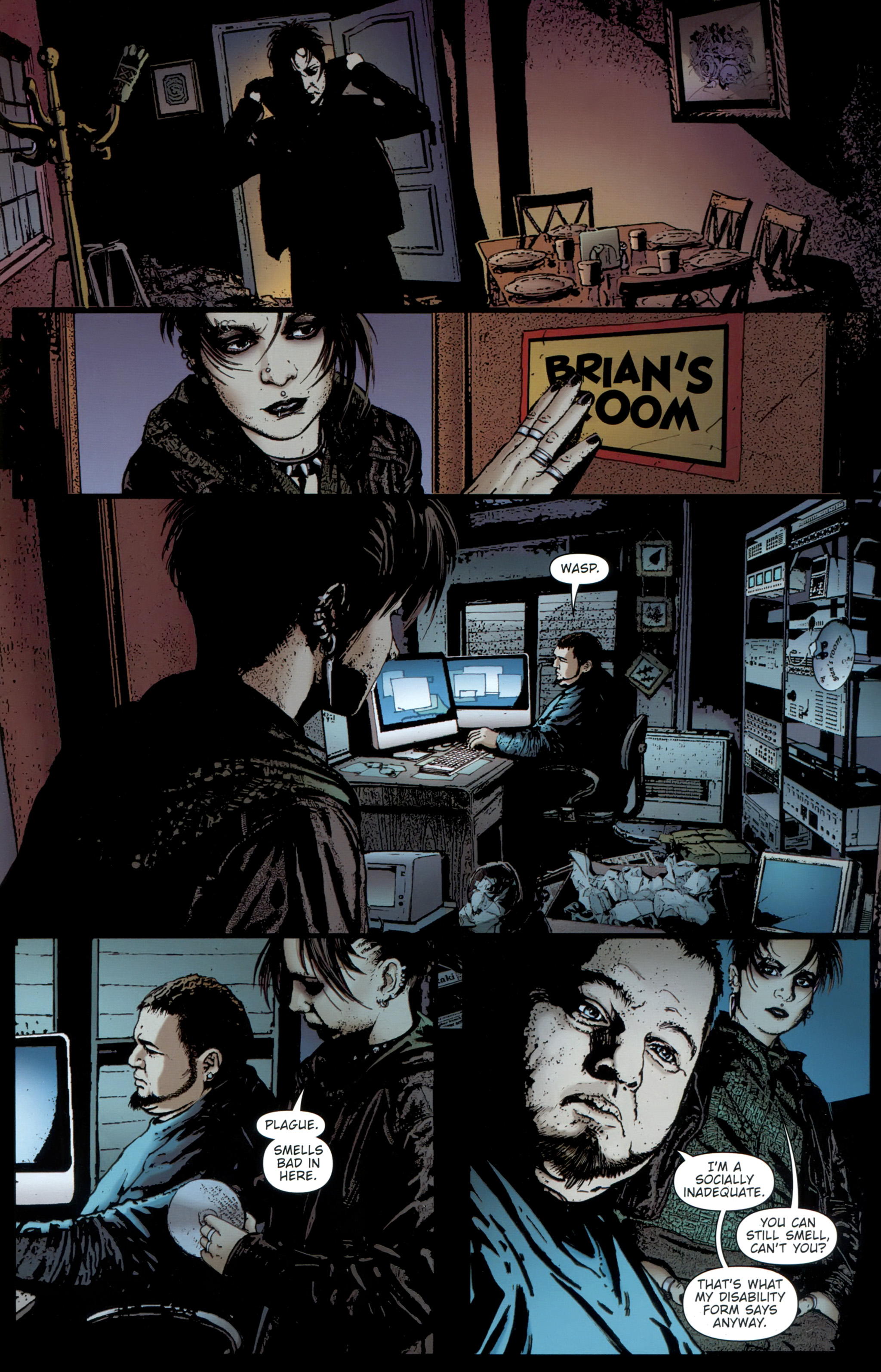 Read online The Girl With the Dragon Tattoo comic -  Issue # TPB 1 - 62