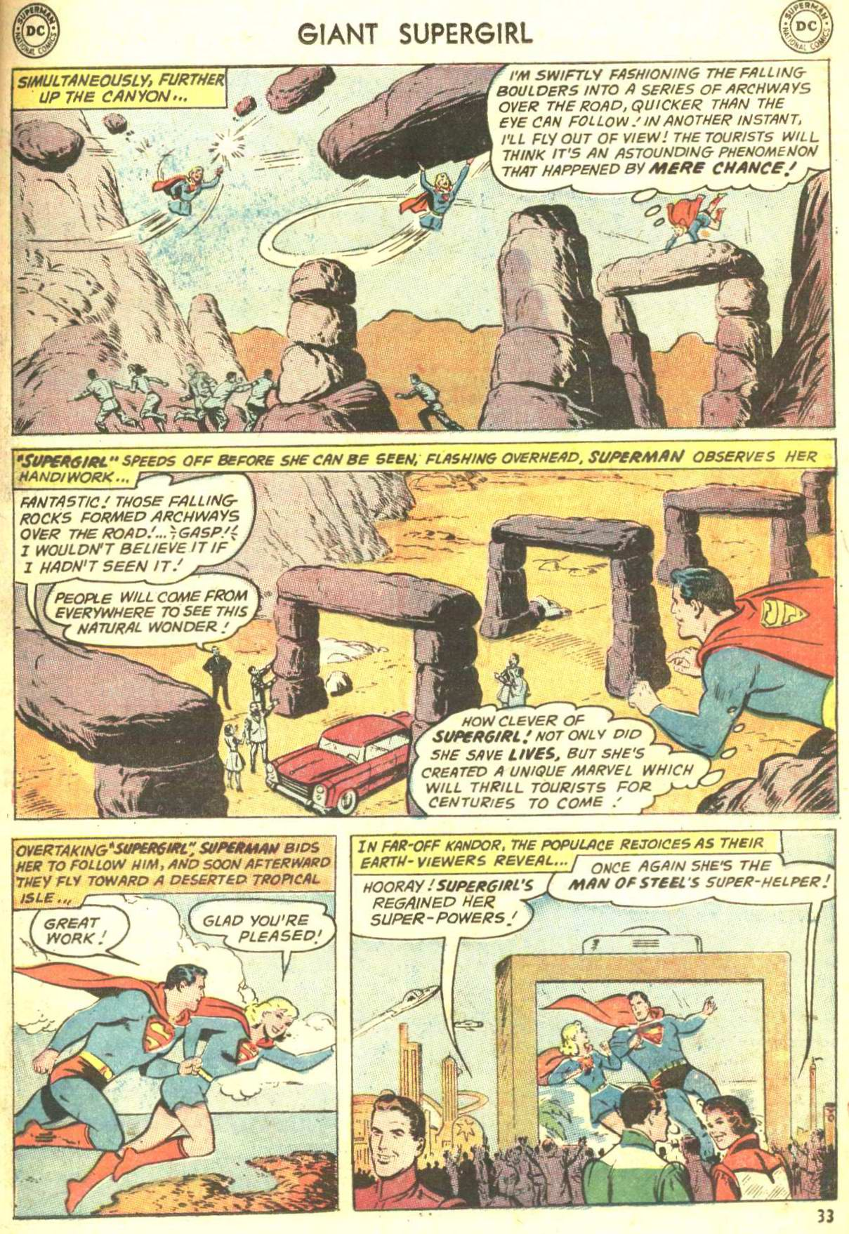 Read online Action Comics (1938) comic -  Issue #360 - 32