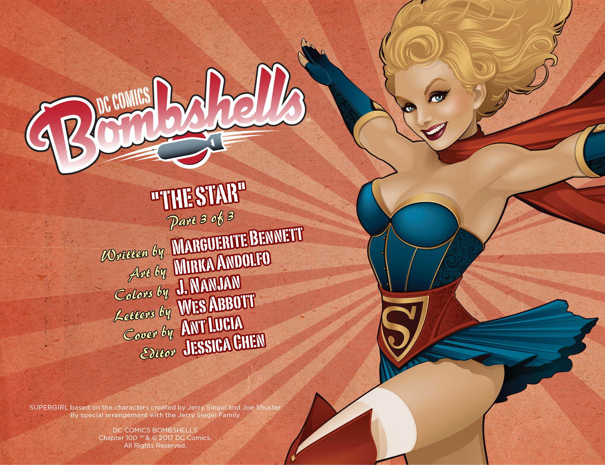 Read online DC Comics: Bombshells comic -  Issue #100 - 3