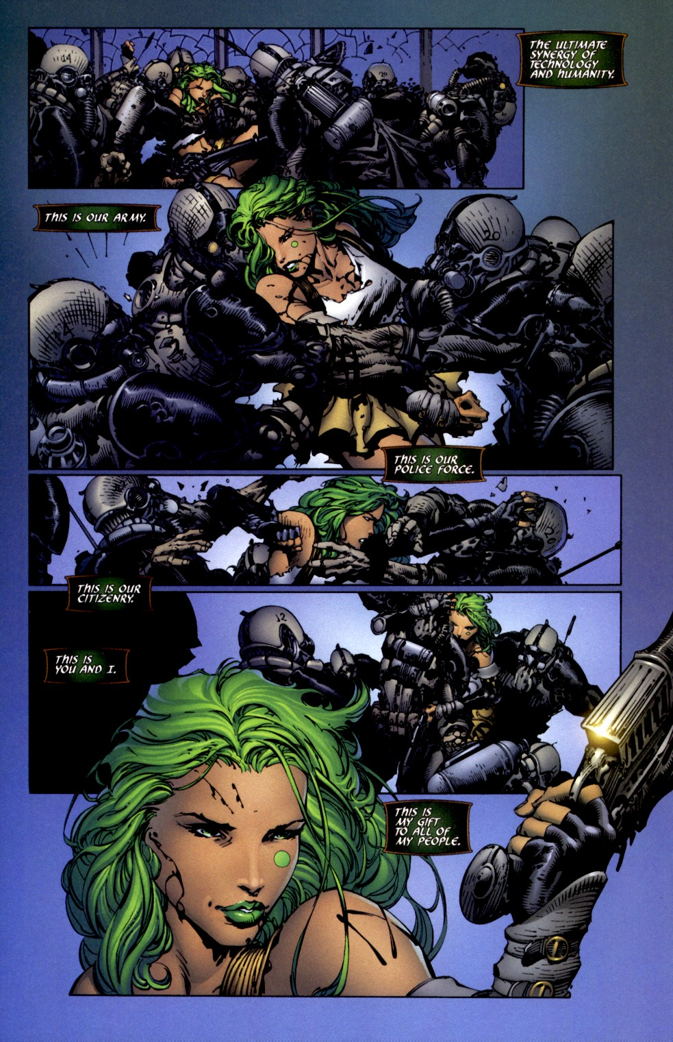 Read online Aphrodite IX (2000) comic -  Issue #2 - 20
