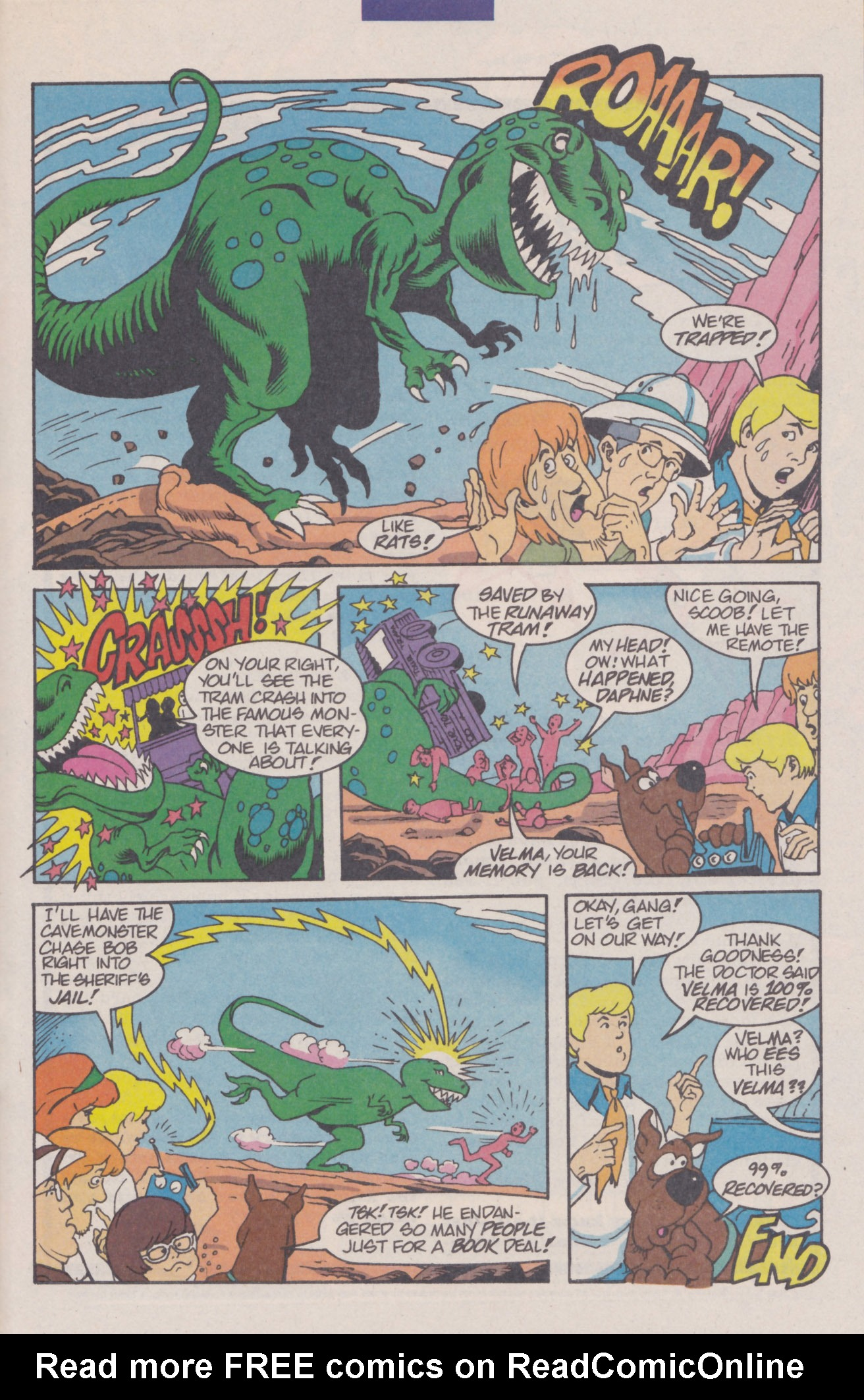 Read online Scooby-Doo (1995) comic -  Issue #8 - 31