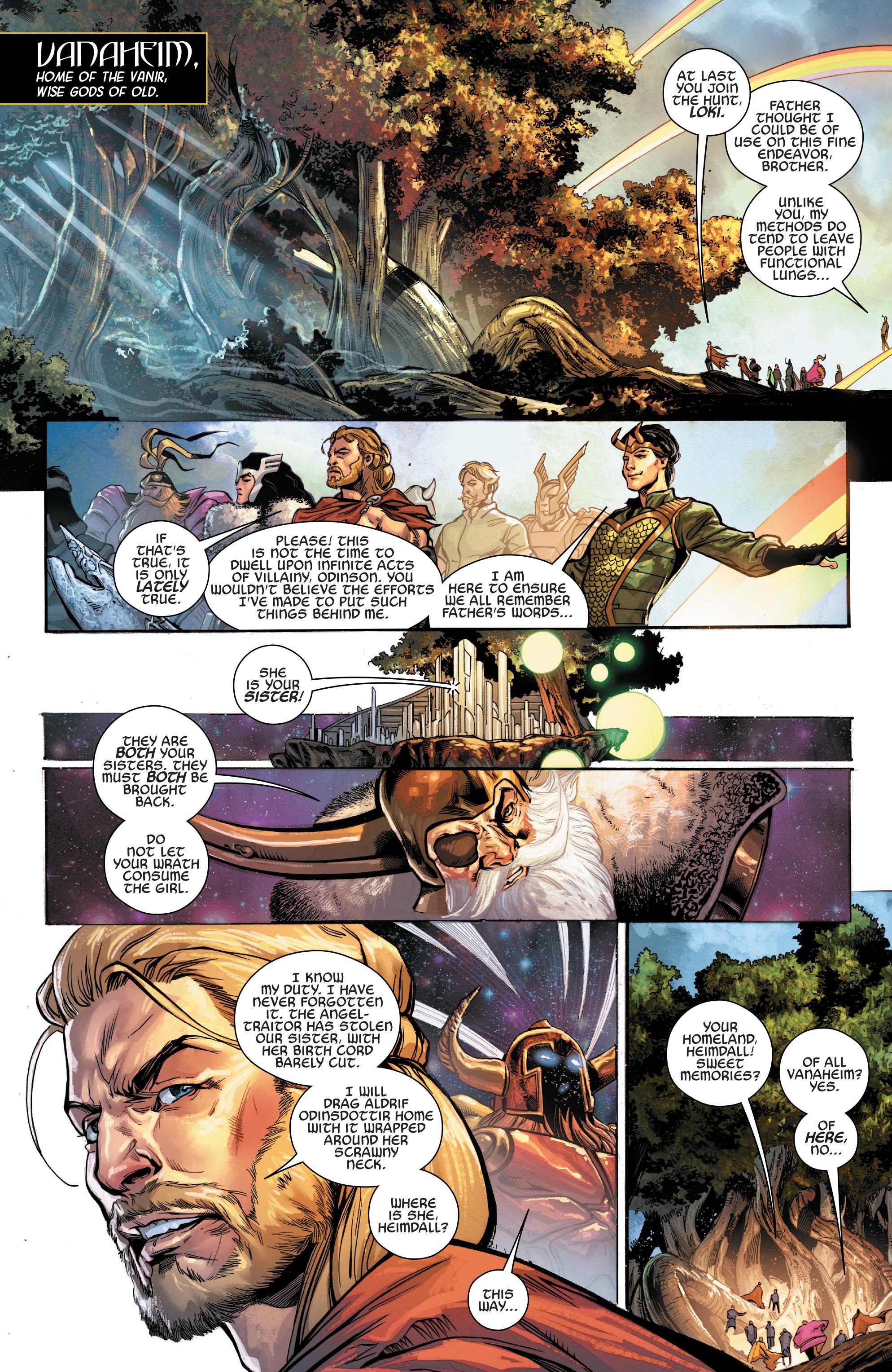 Read online Angela: Asgard's Assassin comic -  Issue #3 - 3