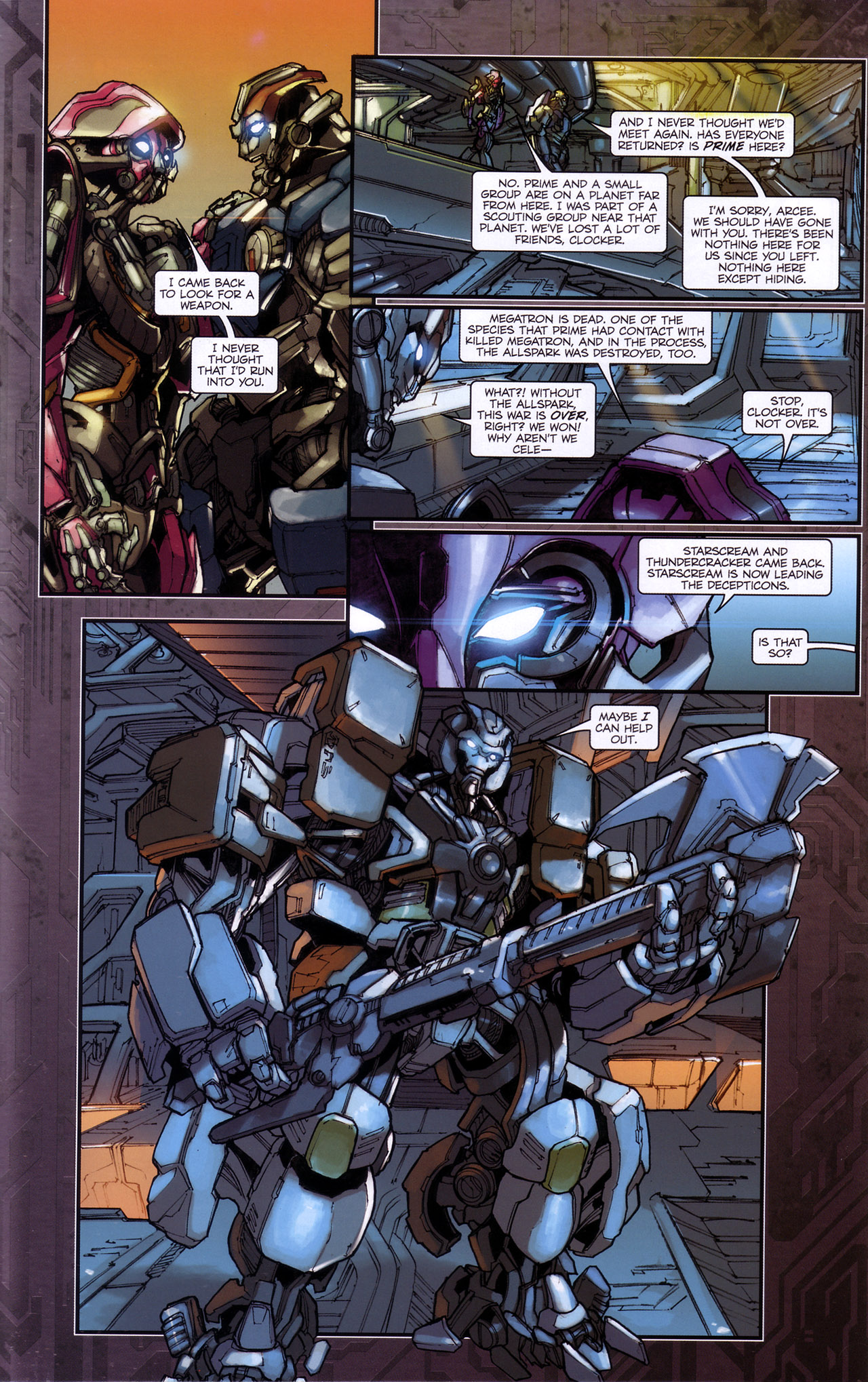 Read online Transformers: The Reign of Starscream comic -  Issue #4 - 19