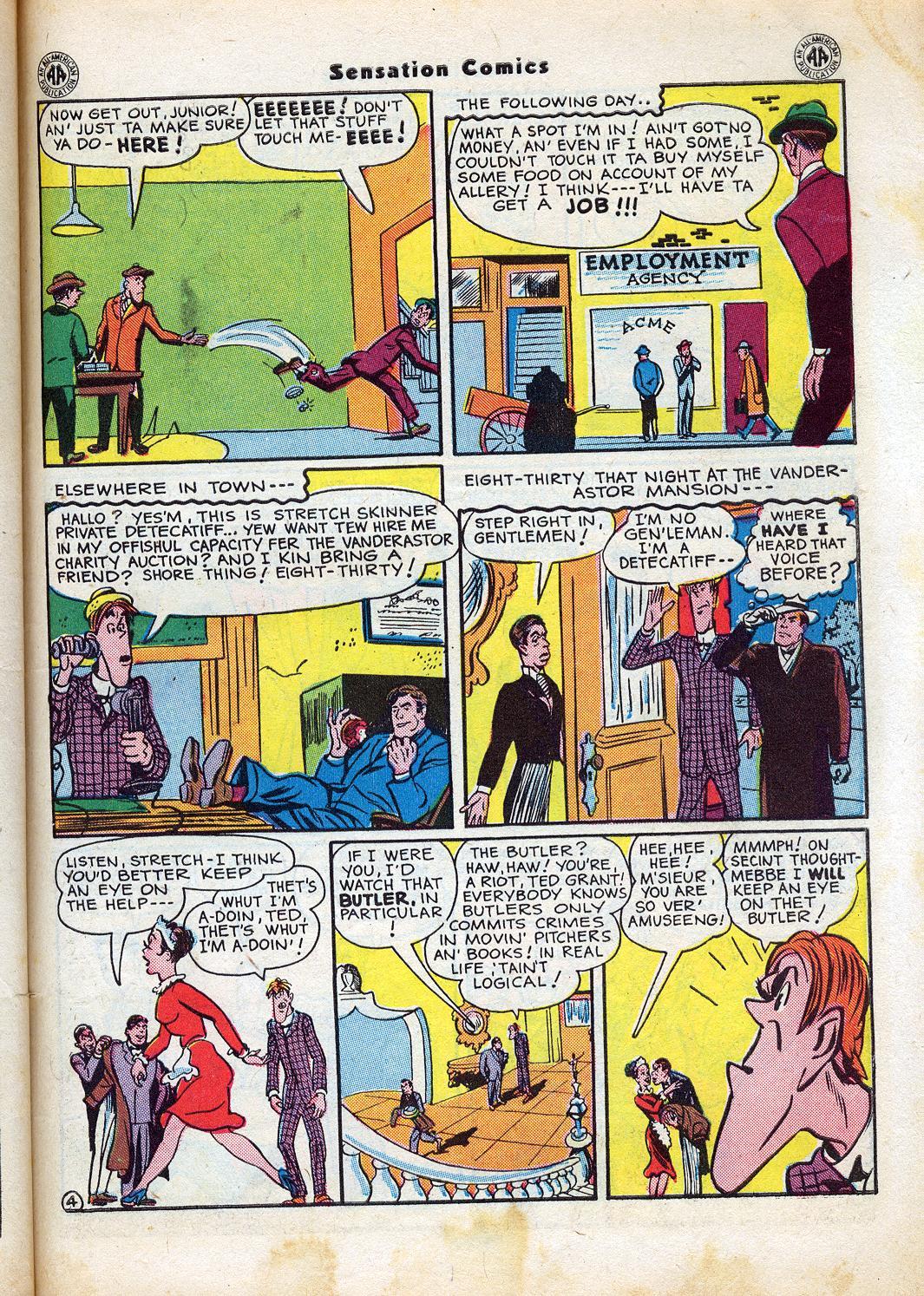 Read online Sensation (Mystery) Comics comic -  Issue #47 - 45
