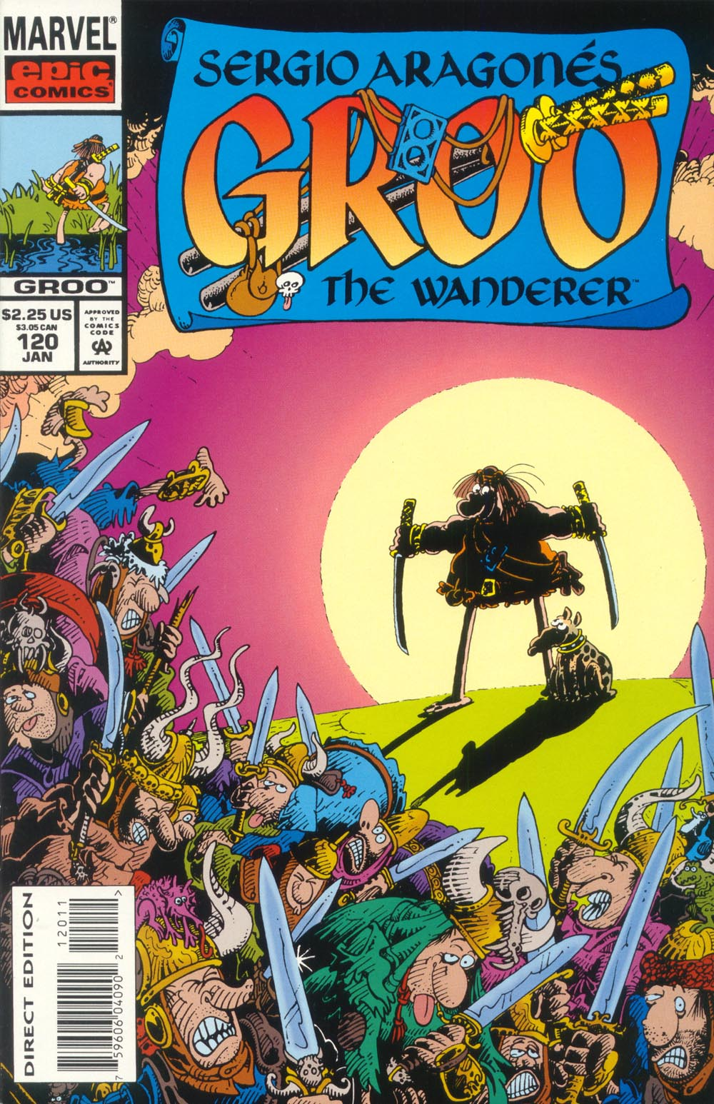 Read online Sergio Aragonés Groo the Wanderer comic -  Issue #120 - 1