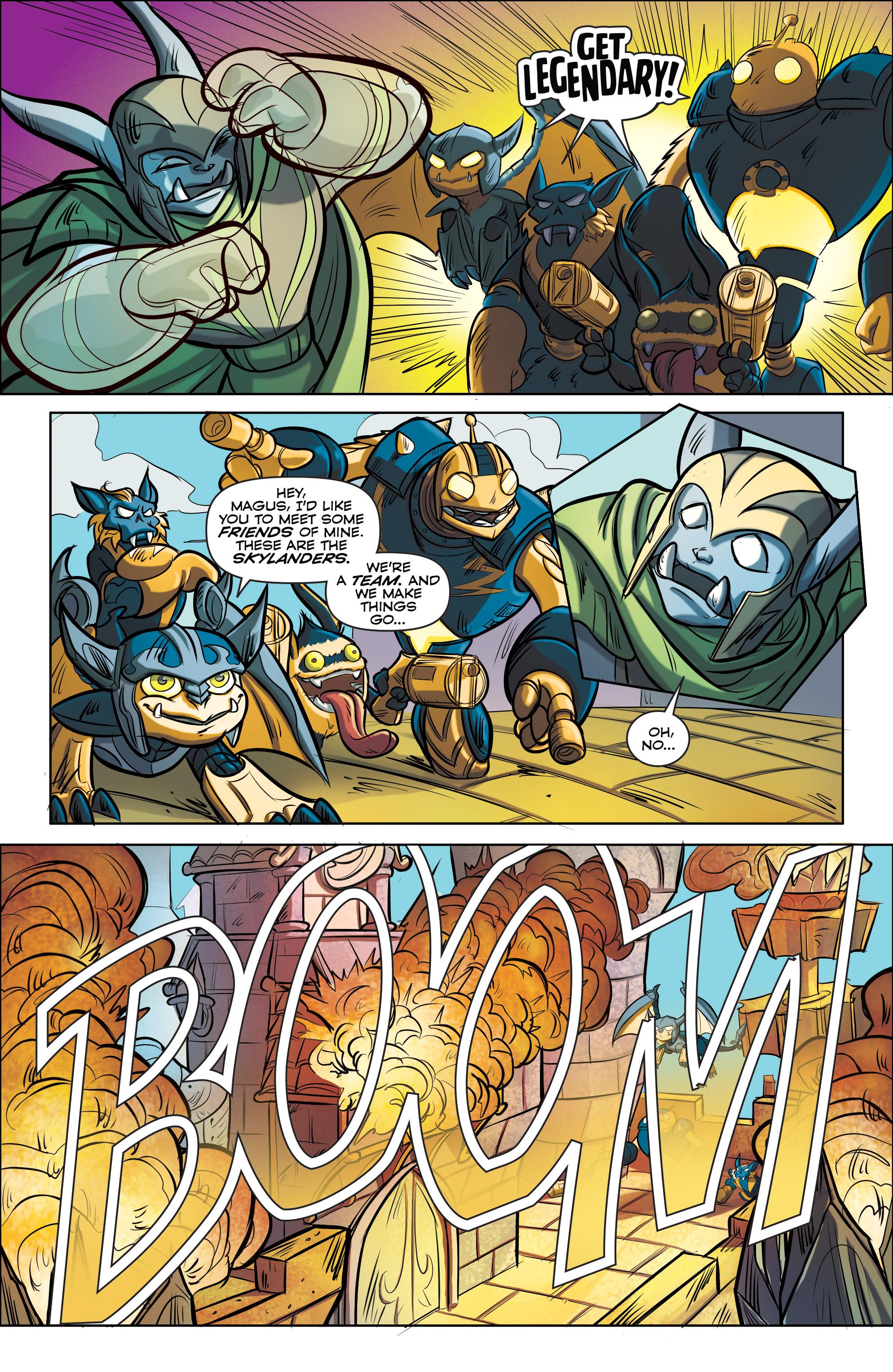 Read online Skylanders comic -  Issue #5 - 17