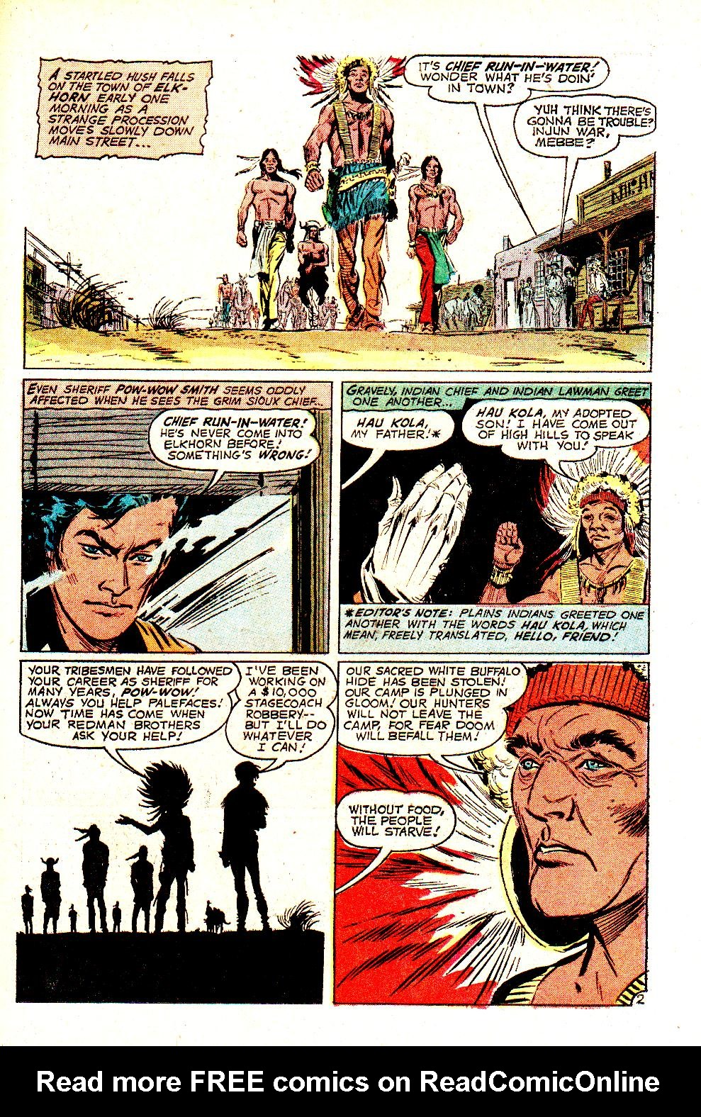 Read online All-Star Western (1970) comic -  Issue #11 - 29