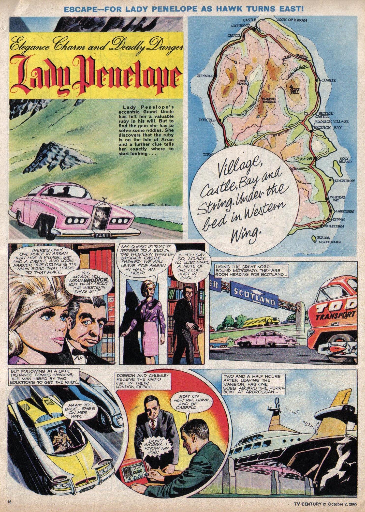 Read online TV Century 21 (TV 21) comic -  Issue #37 - 15