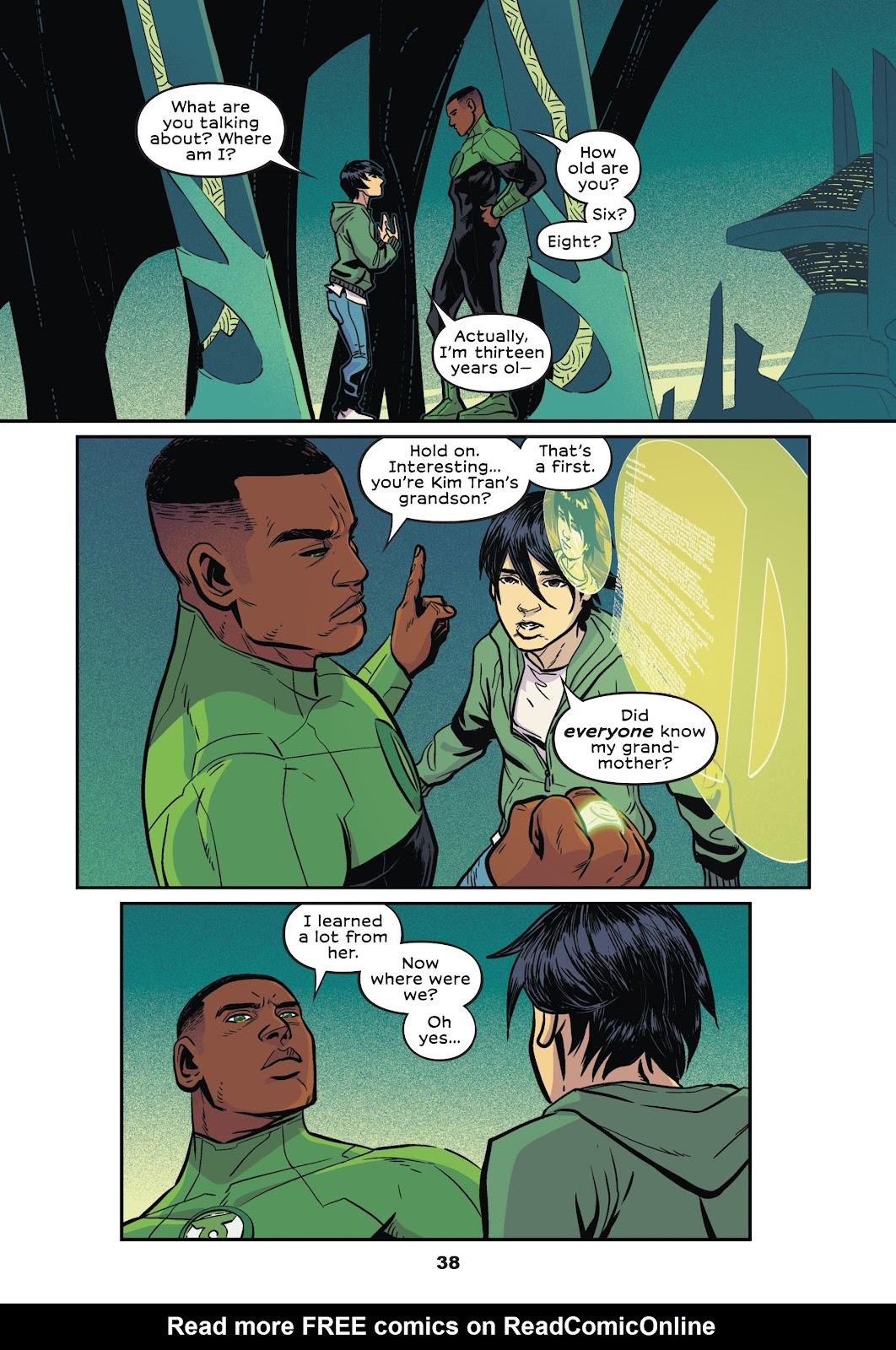Read online Green Lantern: Legacy comic -  Issue # TPB - 36