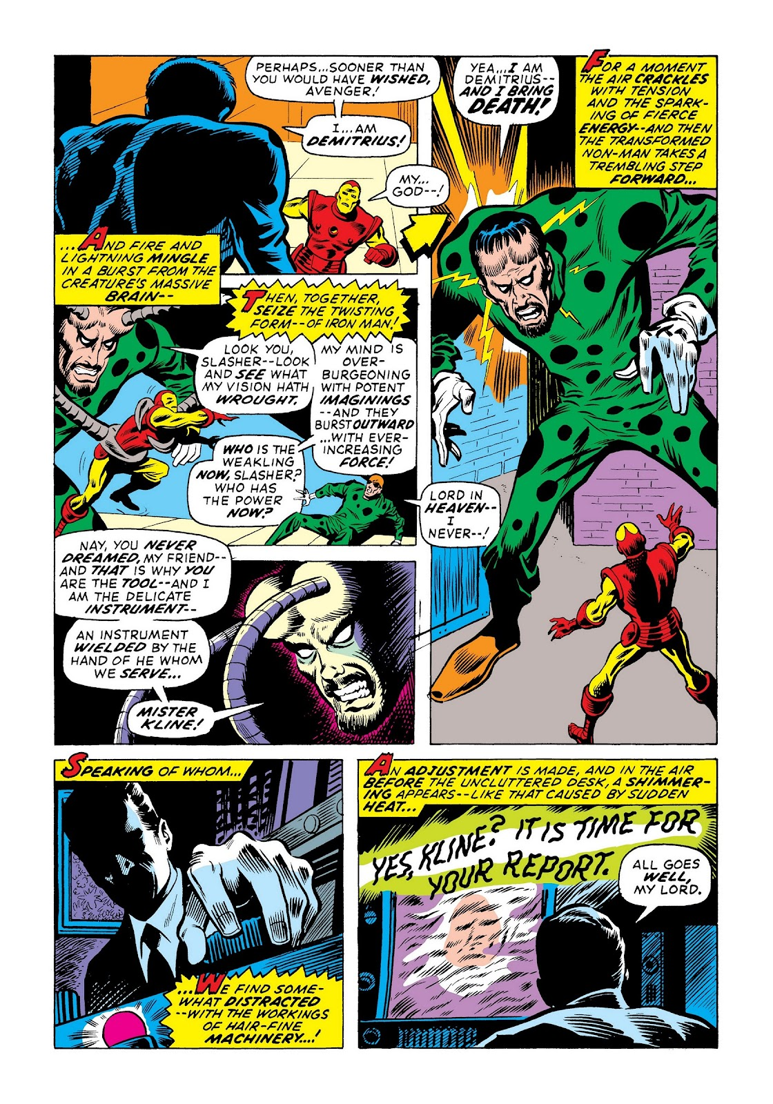 Read online Marvel Masterworks: The Invincible Iron Man comic -  Issue # TPB 8 (Part 1) - 63