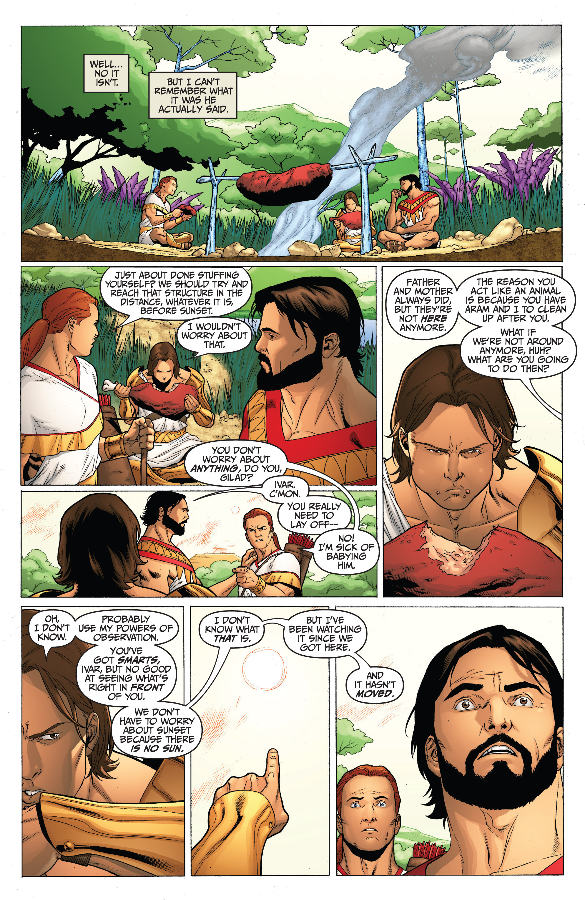 Read online Archer and Armstrong comic -  Issue #0 - 12