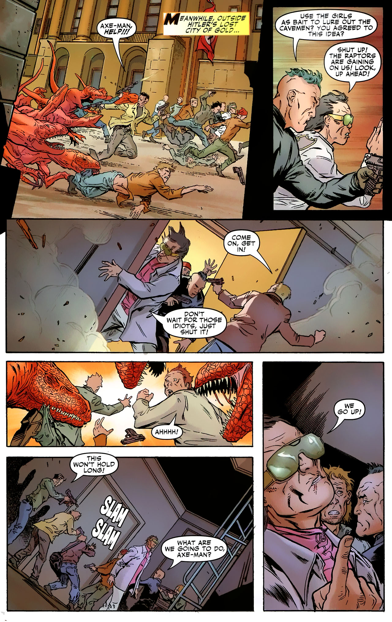 Read online Shanna the She-Devil: Survival of the Fittest comic -  Issue #3 - 5