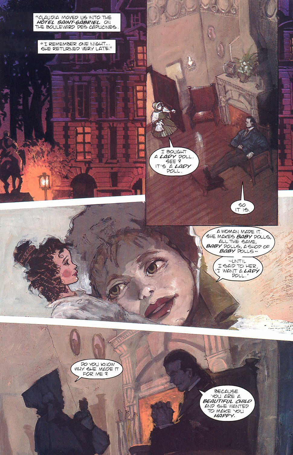 Read online Anne Rice's Interview with the Vampire comic -  Issue #7 - 25